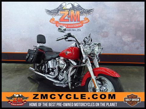 2002 Harley-Davidson FLSTF/FLSTFI Fat Boy® in Greensburg, Pennsylvania