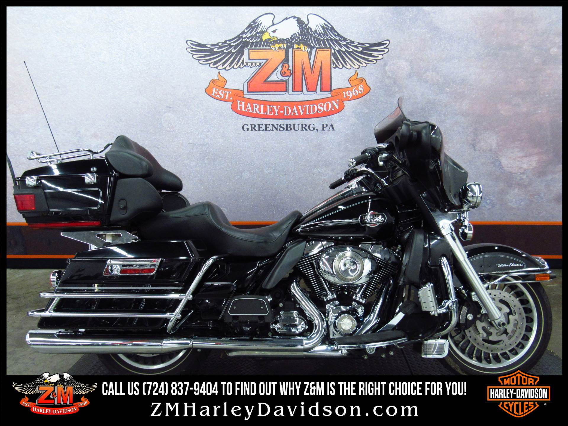 2009 Harley-Davidson Ultra Classic® Electra Glide® Motorcycles ...