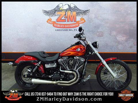 2012 Harley-Davidson Dyna® Wide Glide® in Greensburg, Pennsylvania