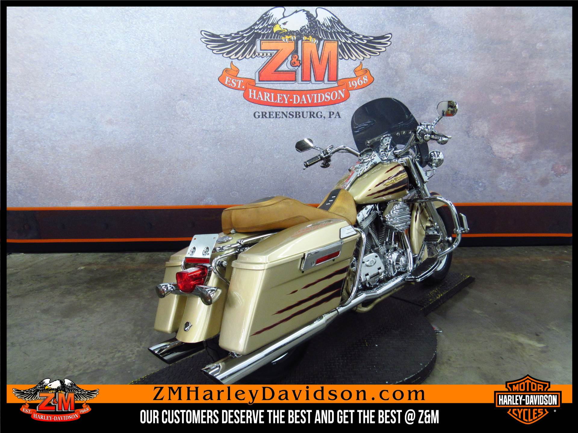 2003 Harley-Davidson Screamin' Eagle®  Road King® in Greensburg, Pennsylvania