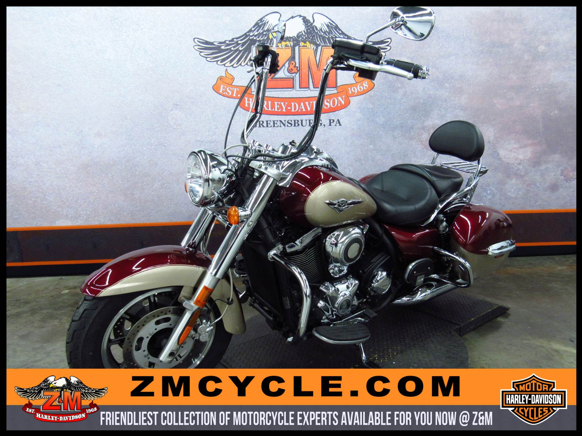 2009 Kawasaki Vulcan® 1700 Nomad™ in Greensburg, Pennsylvania