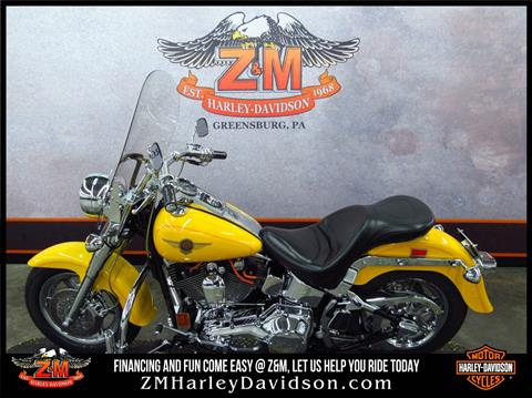 2001 Harley-Davidson FLSTF/FLSTFI Fat Boy® in Greensburg, Pennsylvania