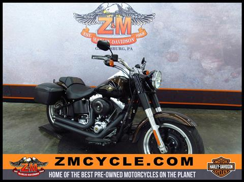 2013 Harley-Davidson Softail® Fat Boy® Lo 110th Anniversary Edition in Greensburg, Pennsylvania