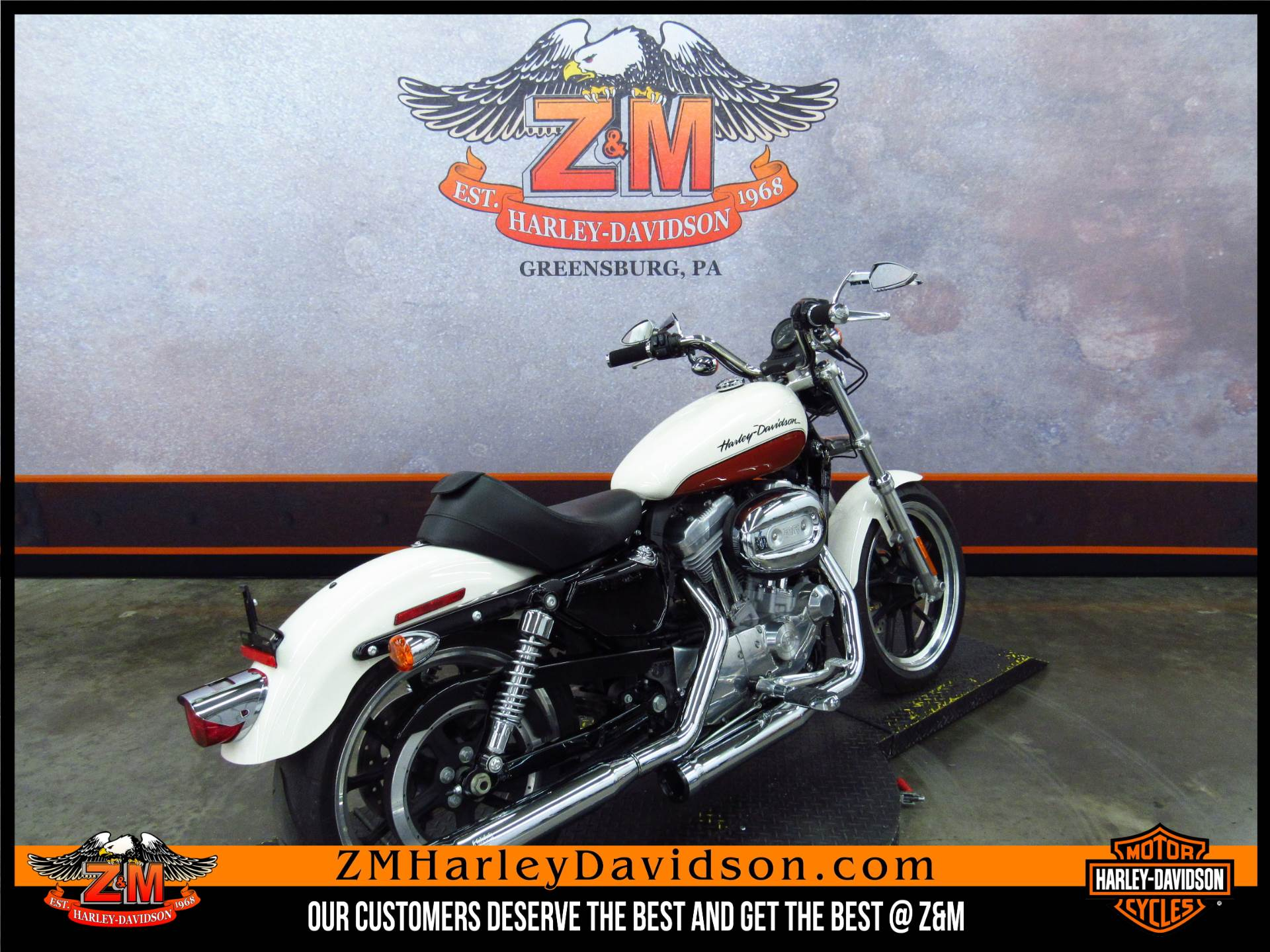 2011 Harley-Davidson Sportster® 883 SuperLow™ in Greensburg, Pennsylvania