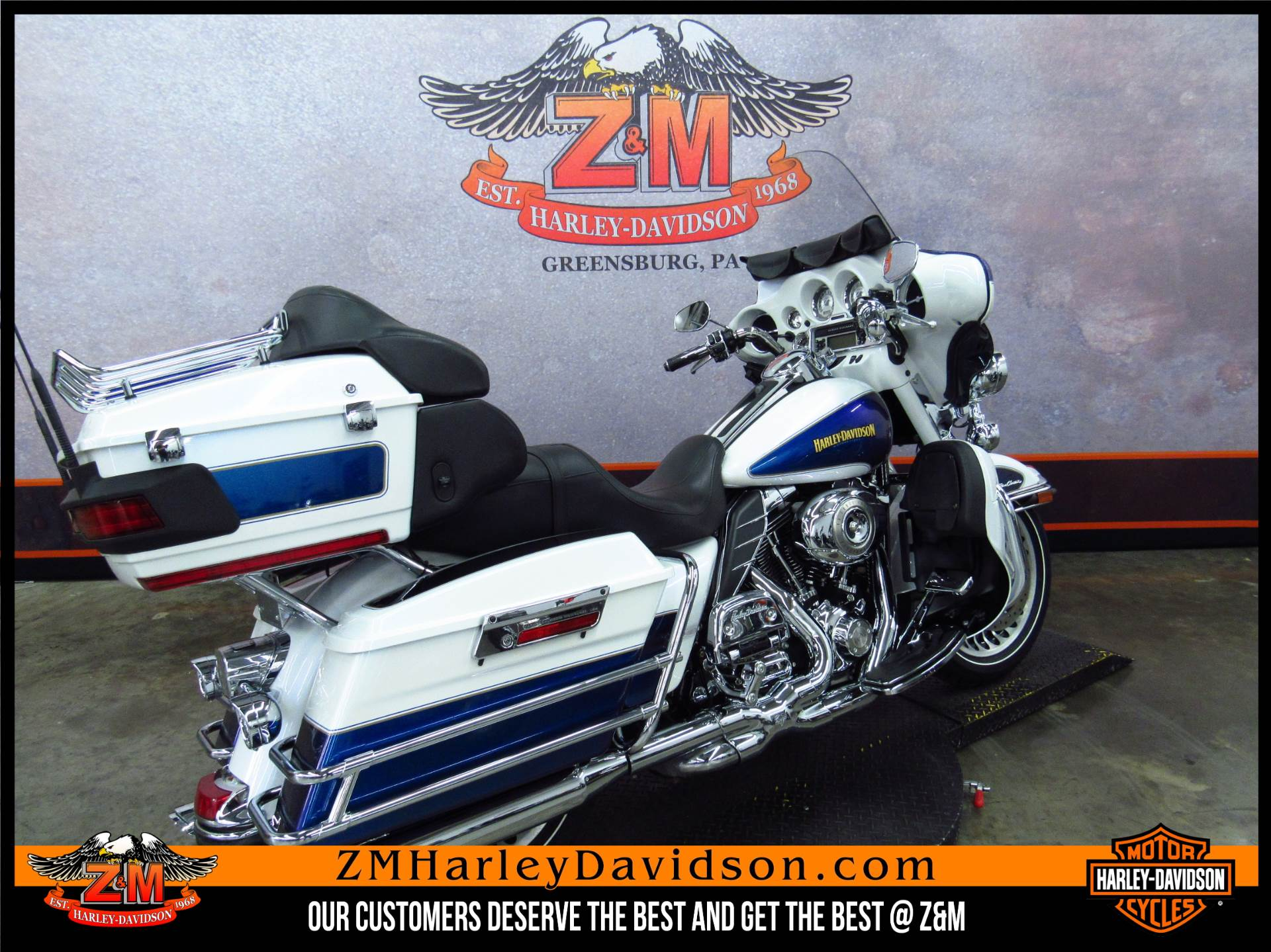 2010 Harley-Davidson Ultra Classic® Electra Glide® in Greensburg, Pennsylvania