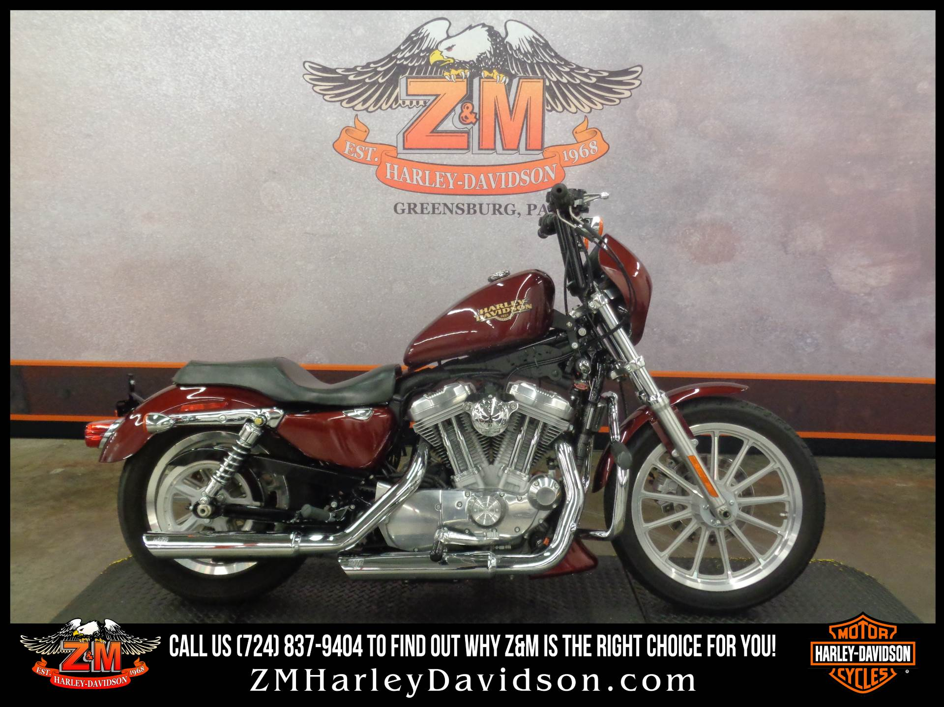2008 Harley-Davidson Sportster® 883 Low in Greensburg, Pennsylvania - Photo 1