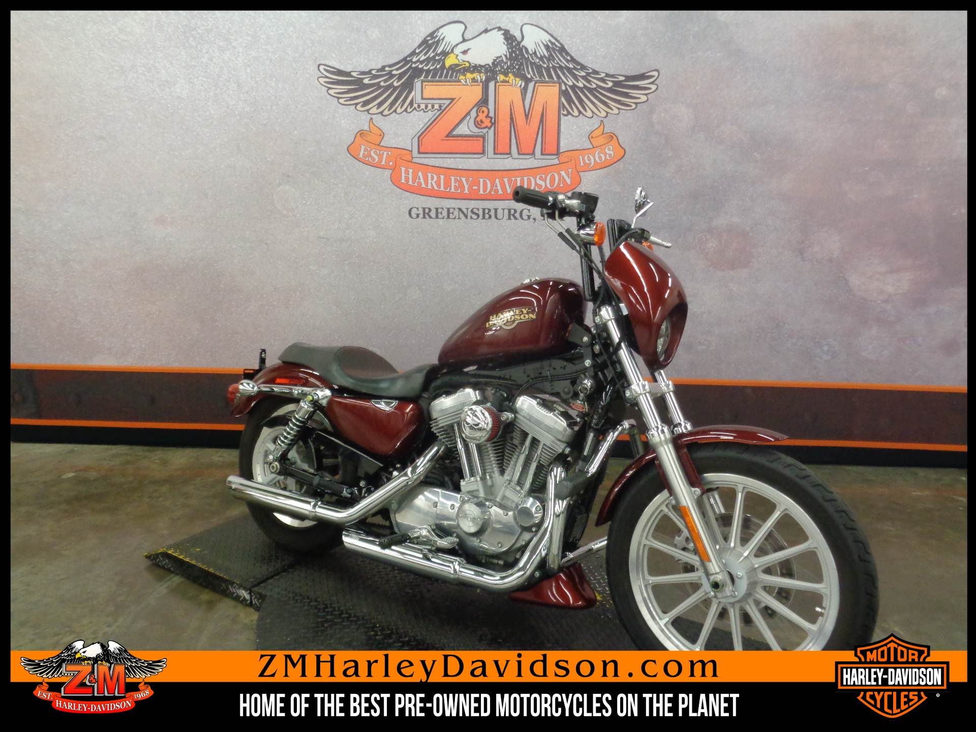 2008 Harley-Davidson Sportster® 883 Low in Greensburg, Pennsylvania - Photo 2