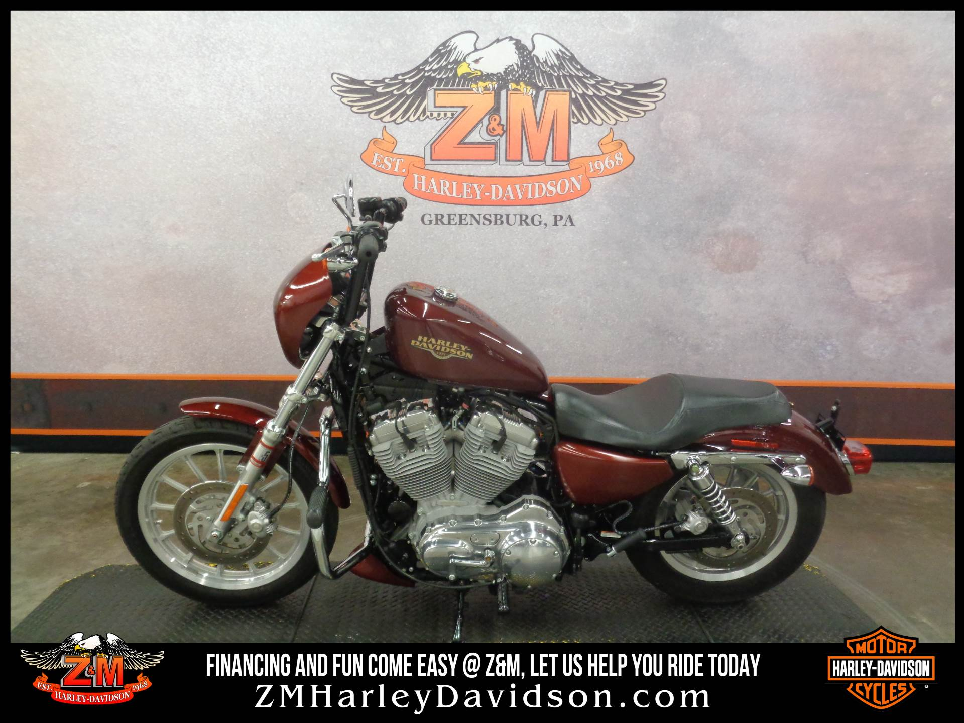 2008 Harley-Davidson Sportster® 883 Low in Greensburg, Pennsylvania - Photo 4