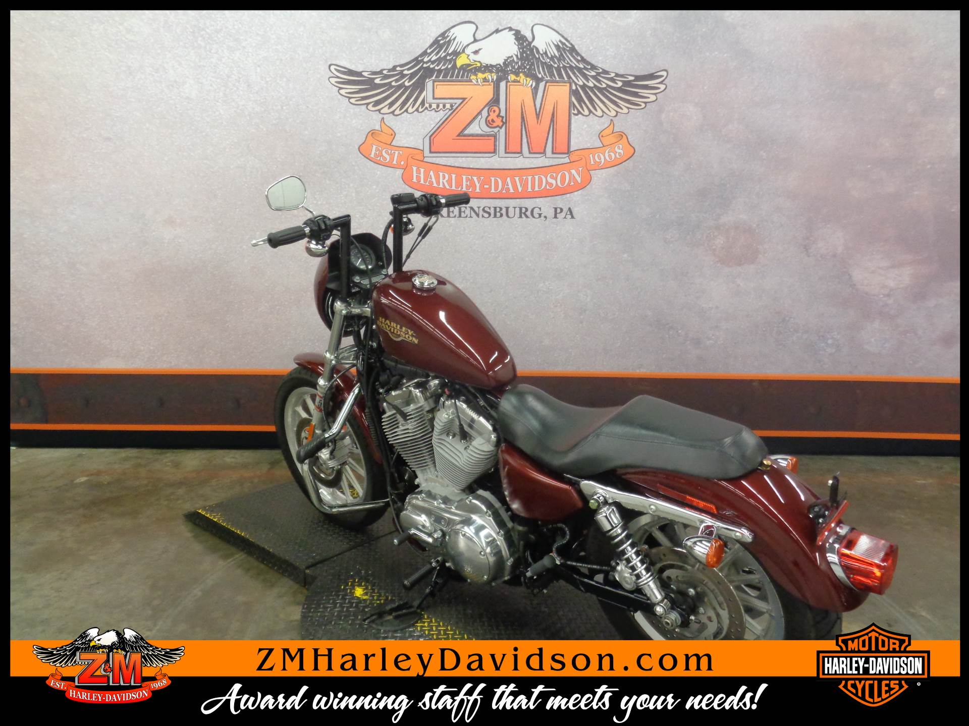 2008 Harley-Davidson Sportster® 883 Low in Greensburg, Pennsylvania - Photo 6
