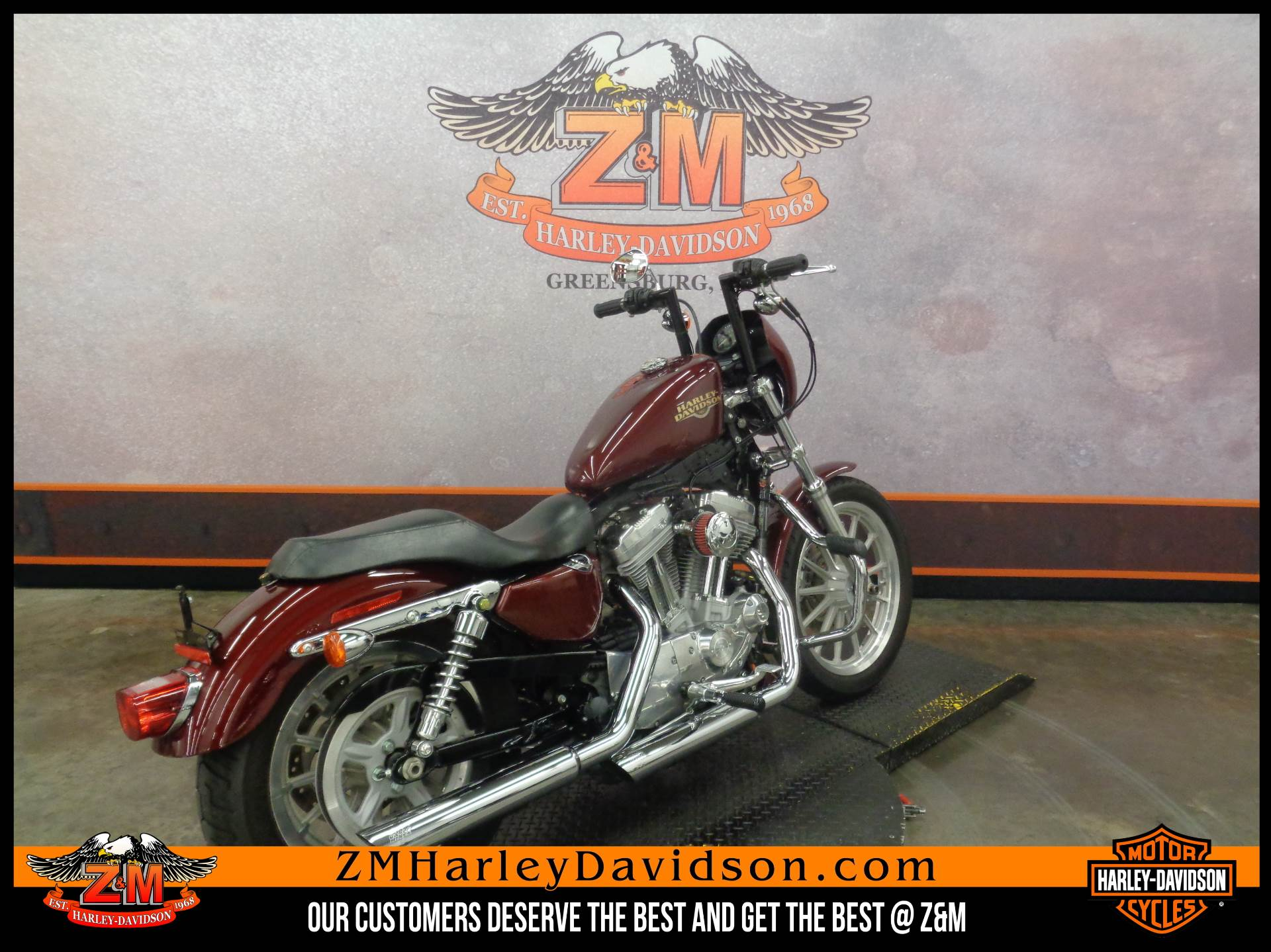 2008 Harley-Davidson Sportster® 883 Low in Greensburg, Pennsylvania - Photo 3