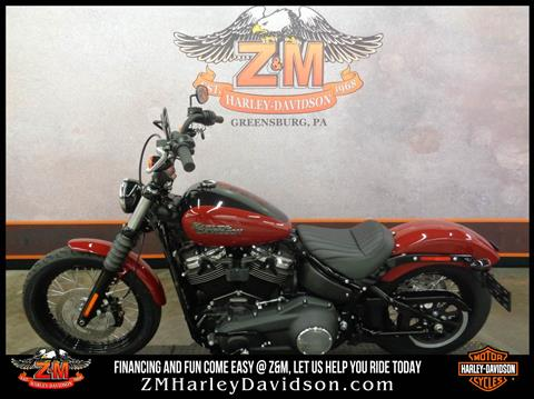 2020 Harley-Davidson Street Bob® in Greensburg, Pennsylvania - Photo 4