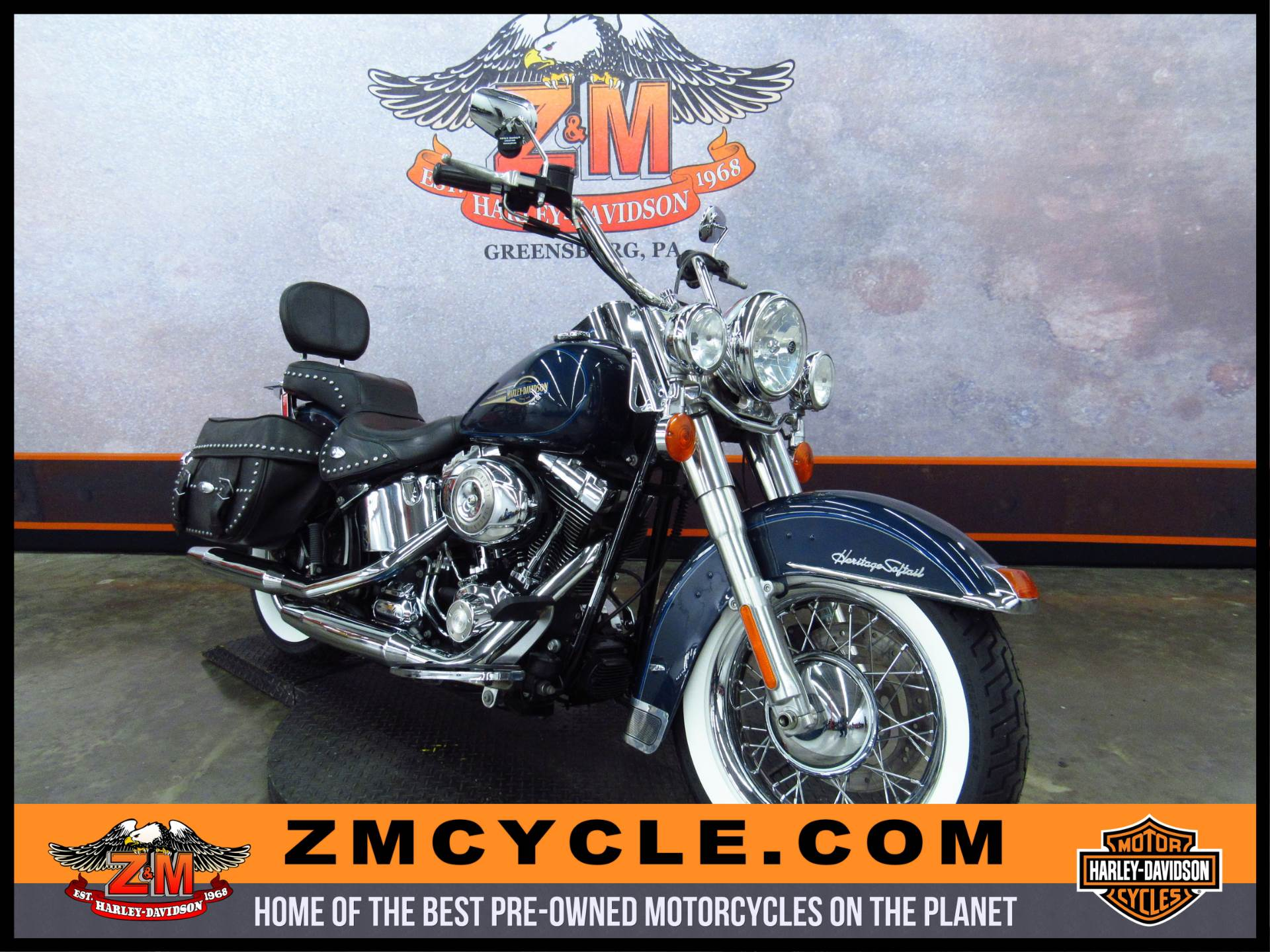 2008 Heritage Softail Classic