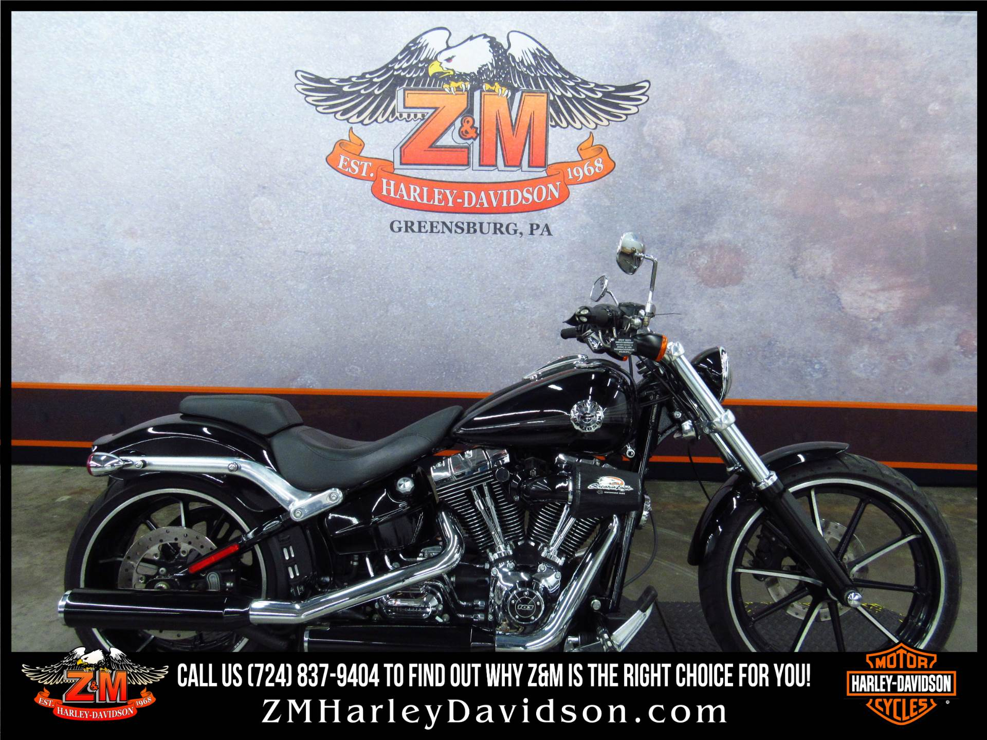2013 Harley-Davidson Softail® Breakout® in Greensburg, Pennsylvania