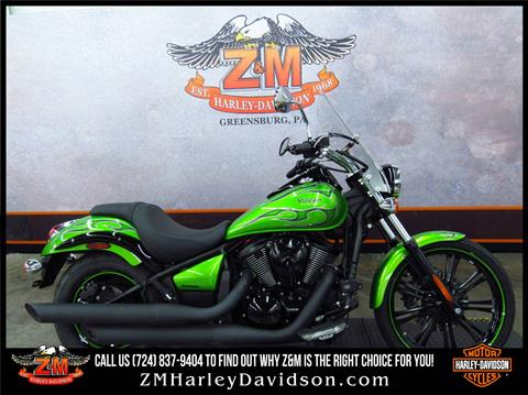 2014 Kawasaki Vulcan® 900 Custom in Greensburg, Pennsylvania