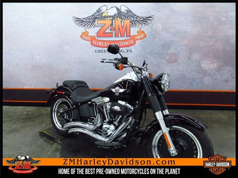 2014 Harley-Davidson Fat Boy® Lo in Greensburg, Pennsylvania