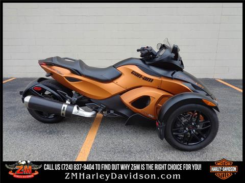2011 Can-Am Spyder® RS-S SE5 in Greensburg, Pennsylvania