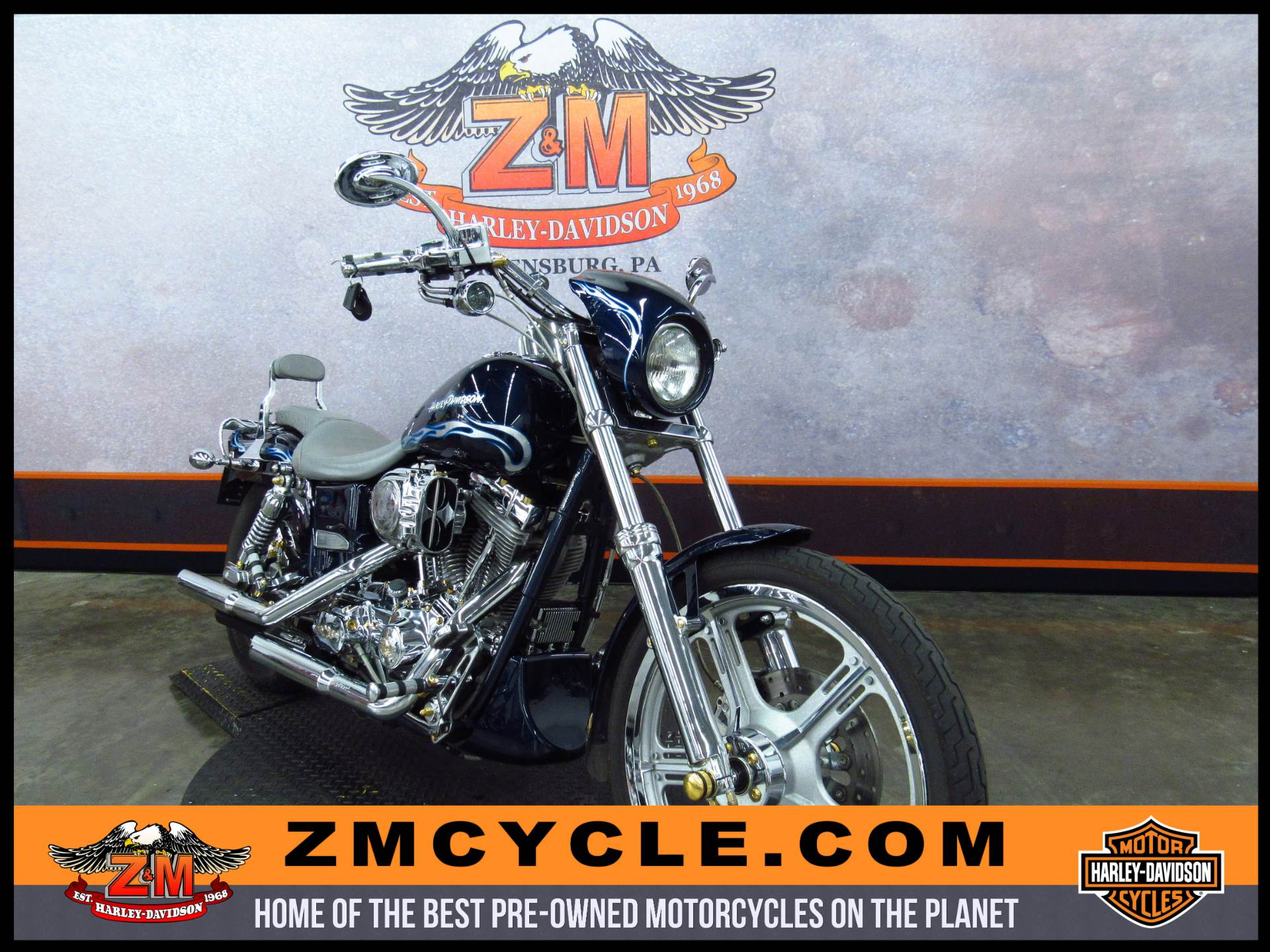 2002 FXDWG Dyna Wide Glide