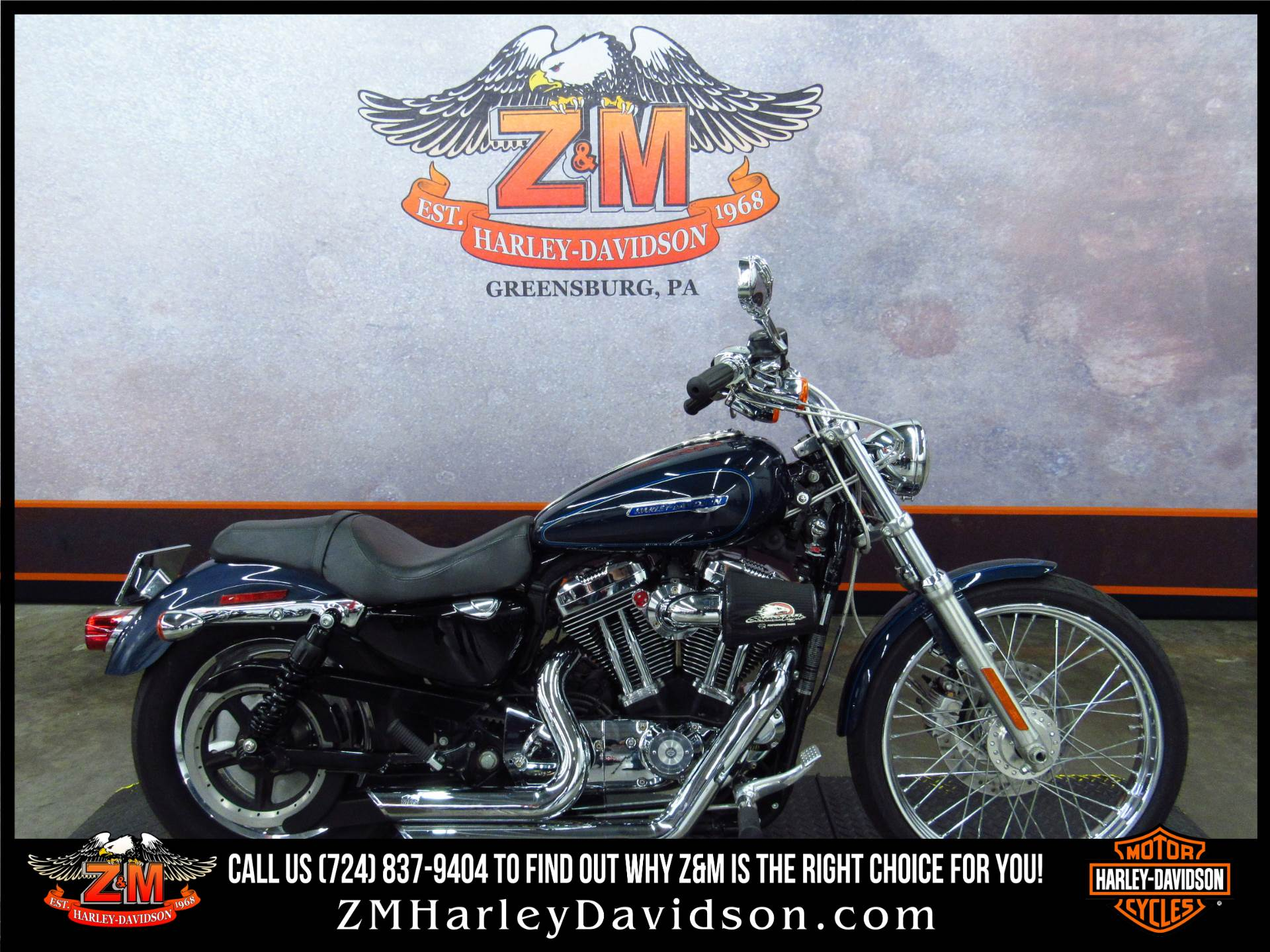 2009 Harley-Davidson Sportster® 1200 Custom in Greensburg, Pennsylvania - Photo 1