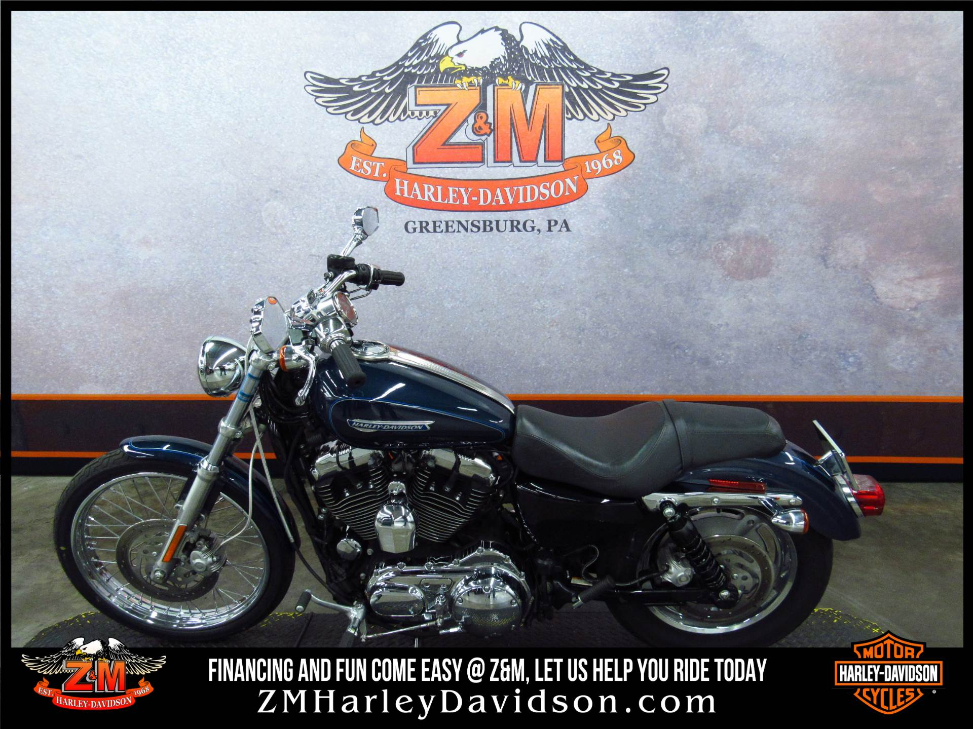2009 Harley-Davidson Sportster® 1200 Custom in Greensburg, Pennsylvania - Photo 4