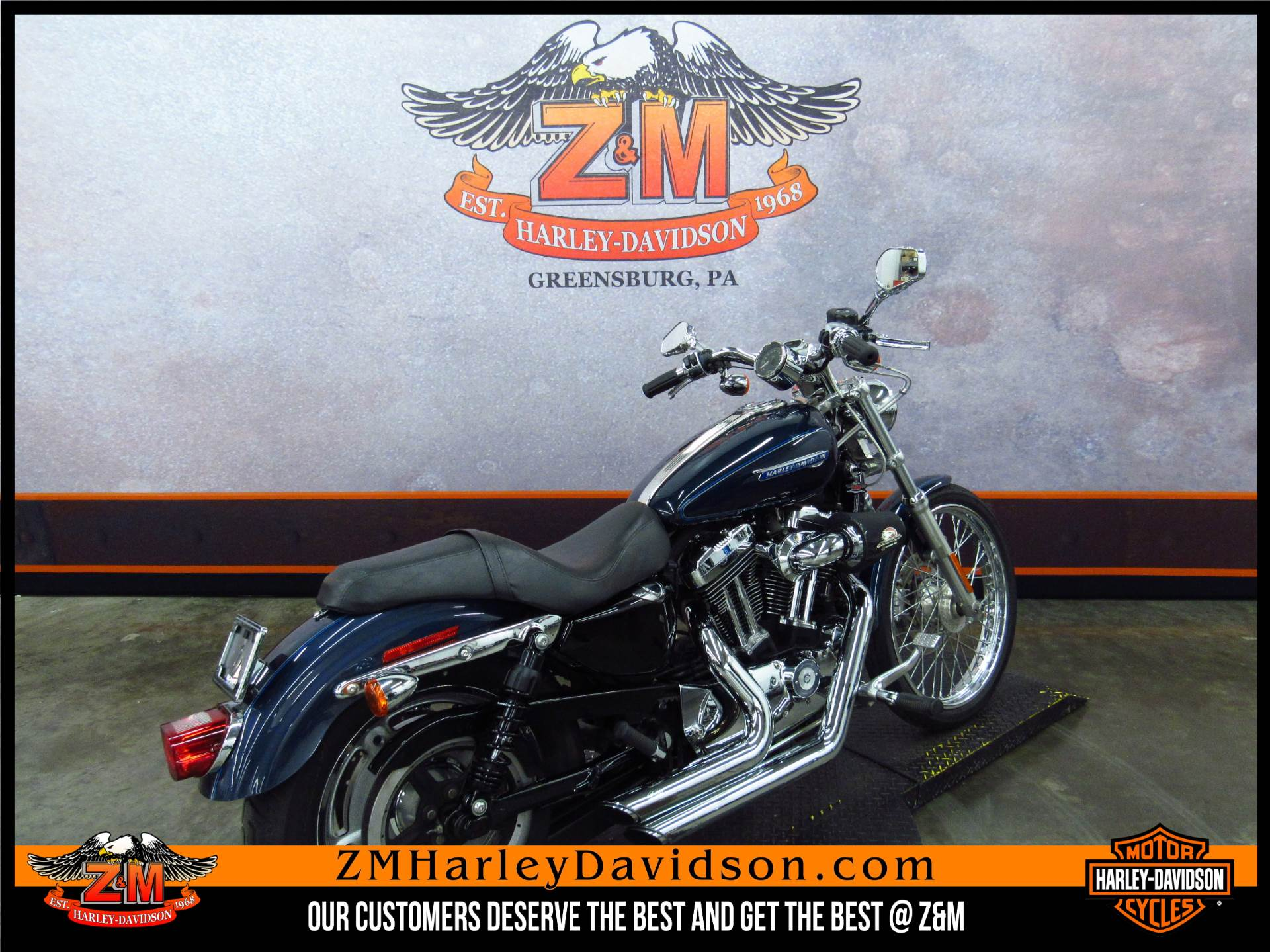 2009 Harley-Davidson Sportster® 1200 Custom in Greensburg, Pennsylvania - Photo 3