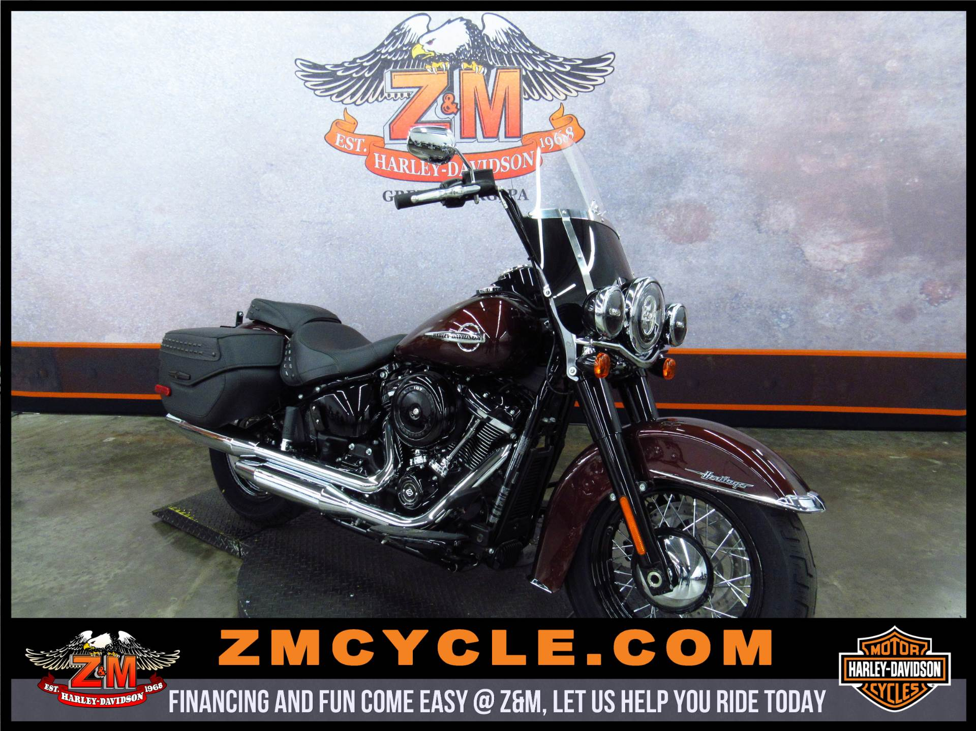 2018 Heritage Softail Classic 107