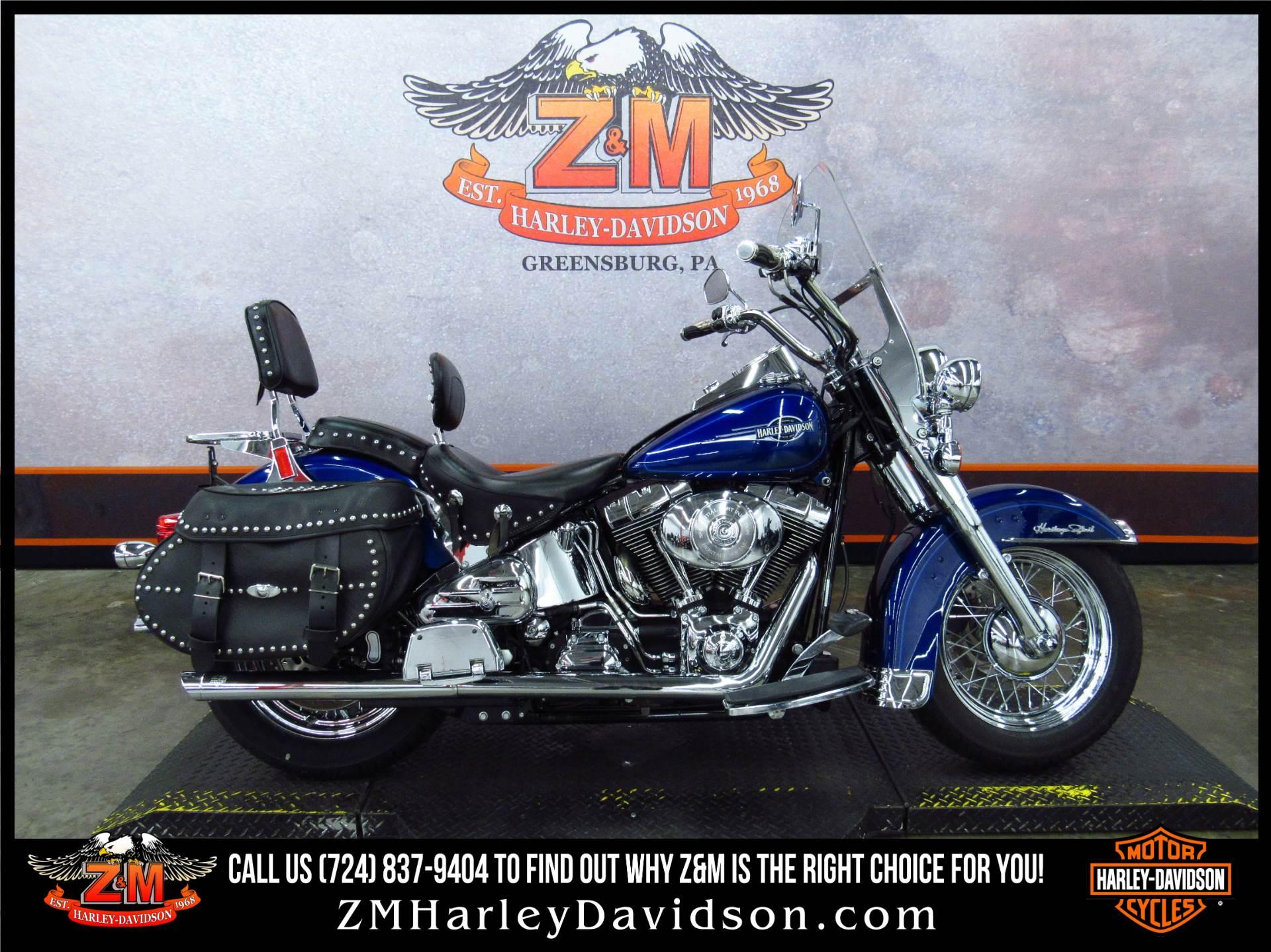 2006 Harley Davidson Heritage Softail Classic Motorcycles In Greensburg Pennsylvania