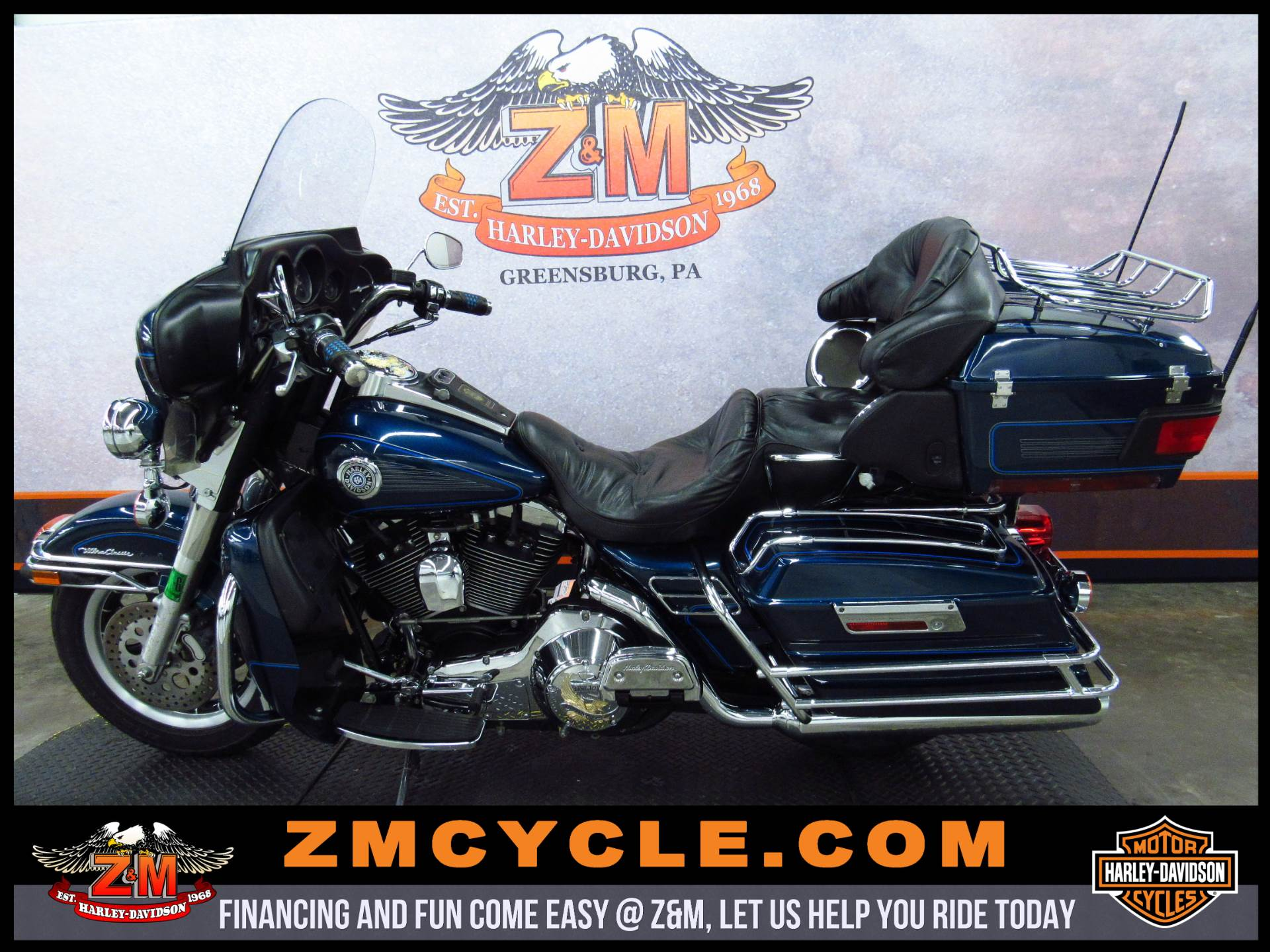 2001 Harley-Davidson FLHTCUI Ultra Classic® Electra Glide® in Greensburg, Pennsylvania
