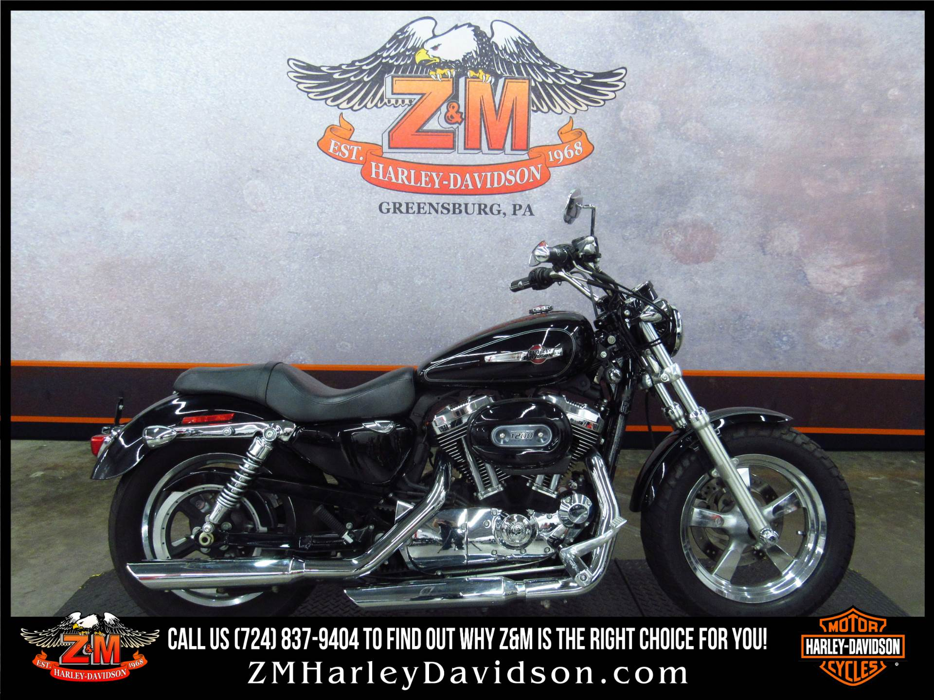 2011 Harley-Davidson Sportster® 1200 Custom in Greensburg, Pennsylvania - Photo 1