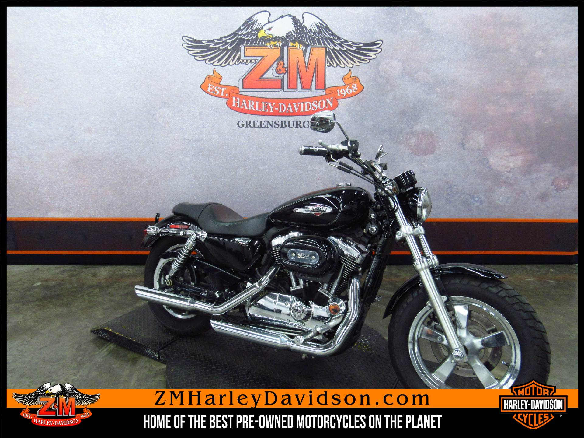 2011 Harley-Davidson Sportster® 1200 Custom in Greensburg, Pennsylvania - Photo 2