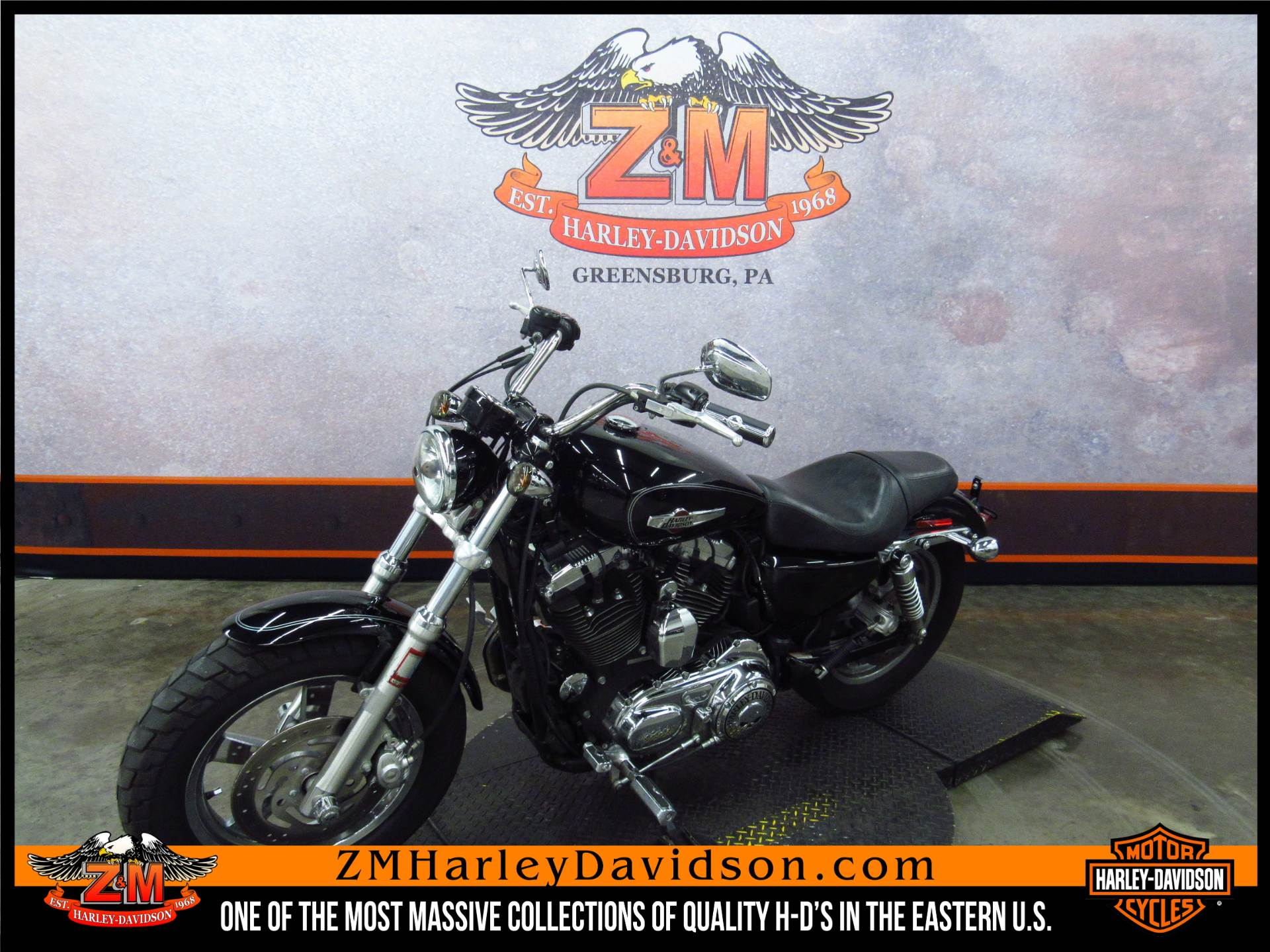 2011 Harley-Davidson Sportster® 1200 Custom in Greensburg, Pennsylvania - Photo 5