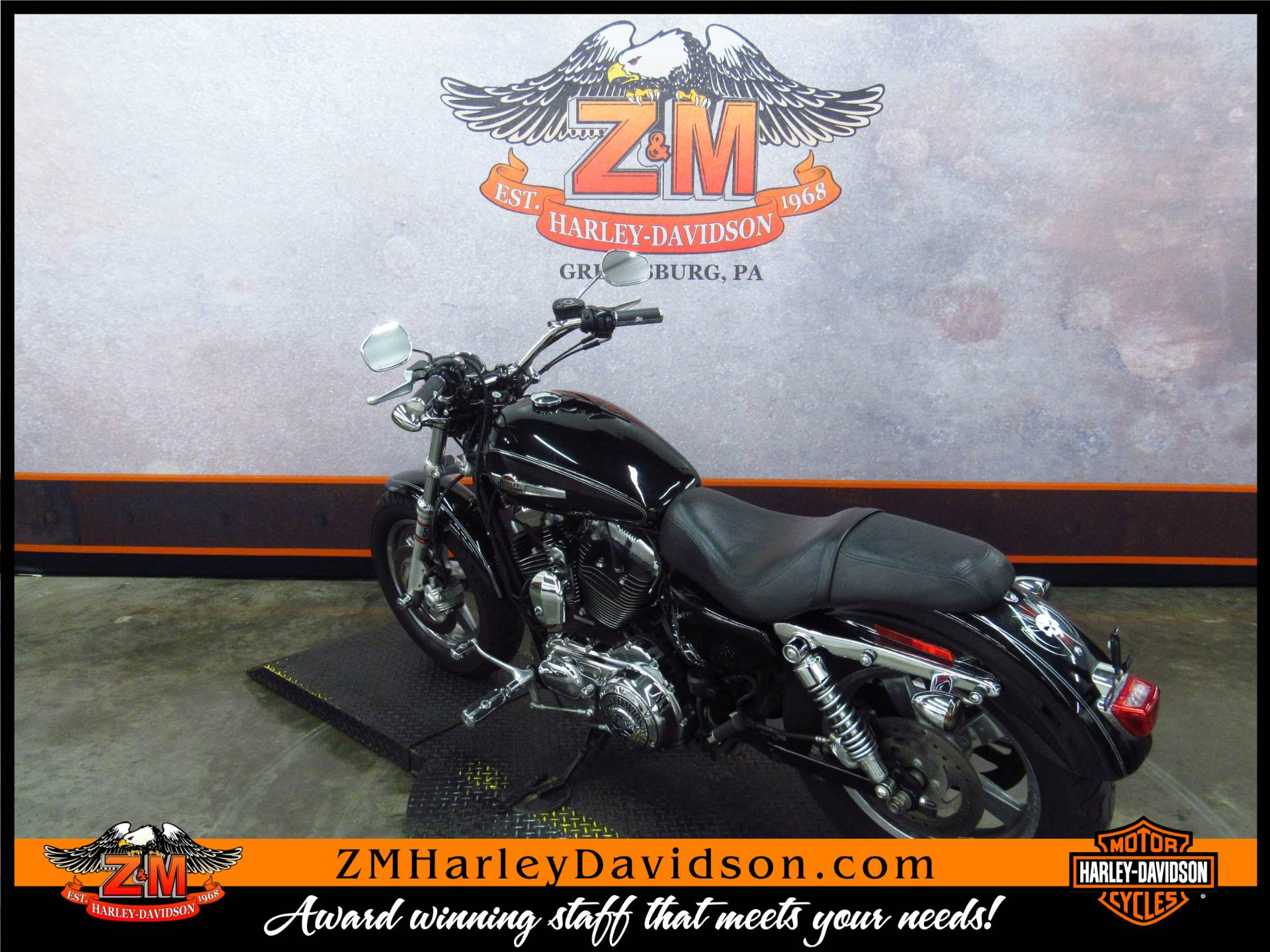 2011 Harley-Davidson Sportster® 1200 Custom in Greensburg, Pennsylvania - Photo 6