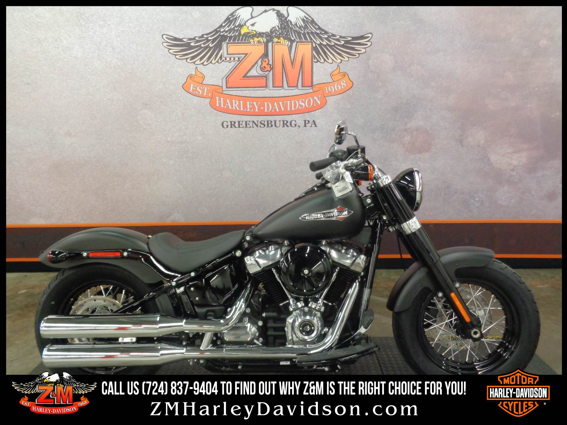 2020 Harley-Davidson Softail Slim® in Greensburg, Pennsylvania - Photo 1