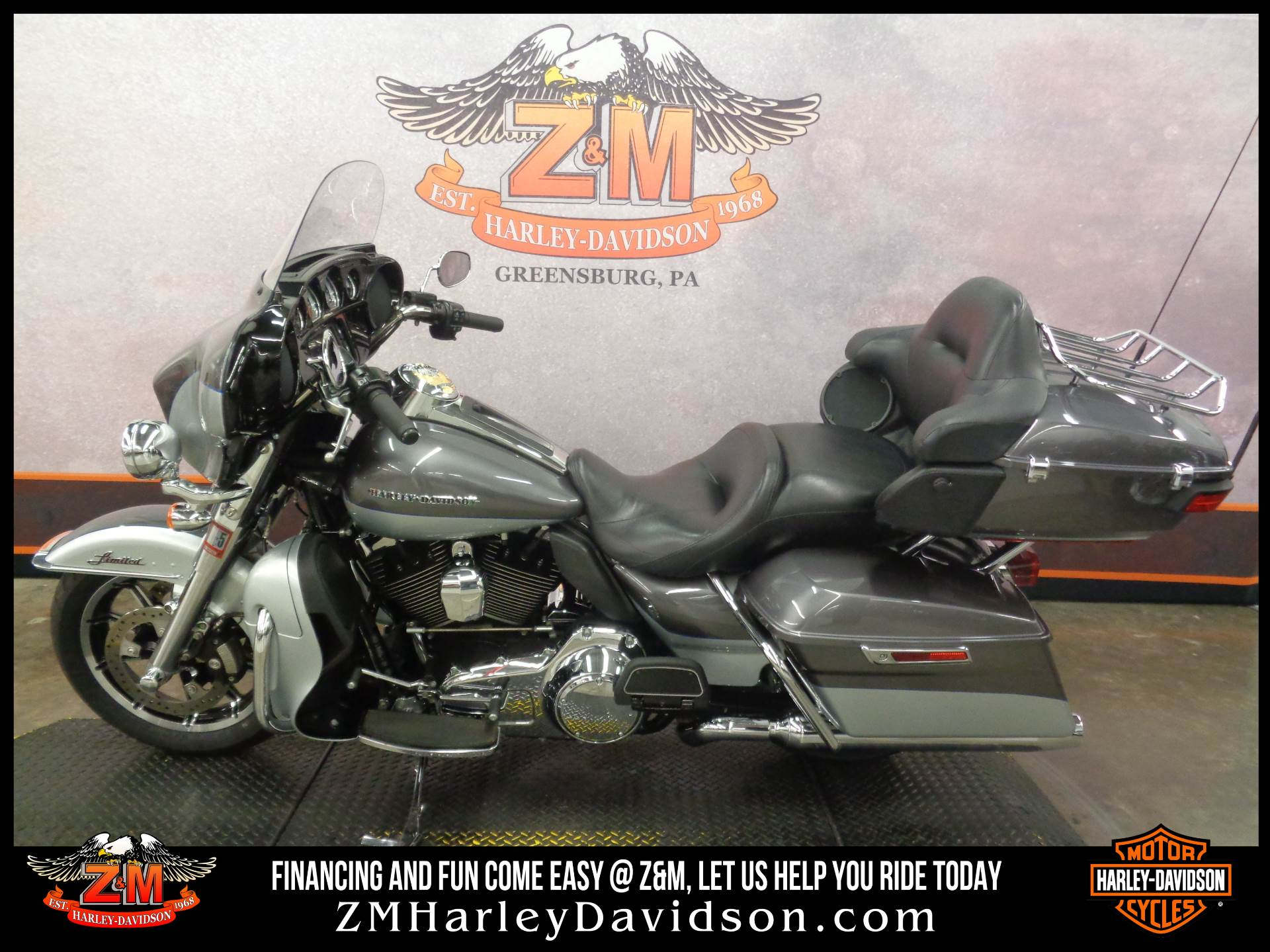 2014 Harley-Davidson Ultra Limited in Greensburg, Pennsylvania - Photo 4