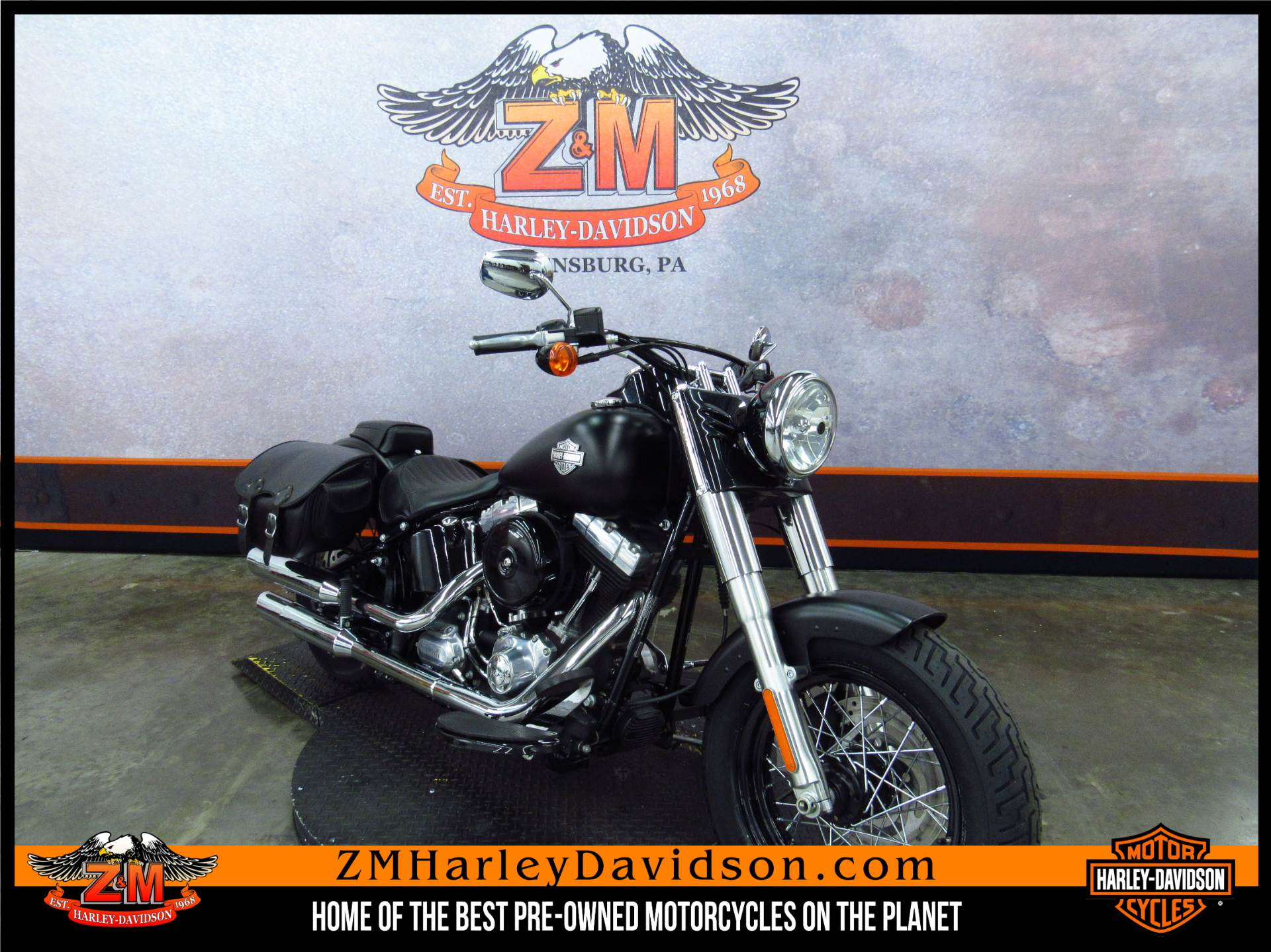 2012 Softail Slim