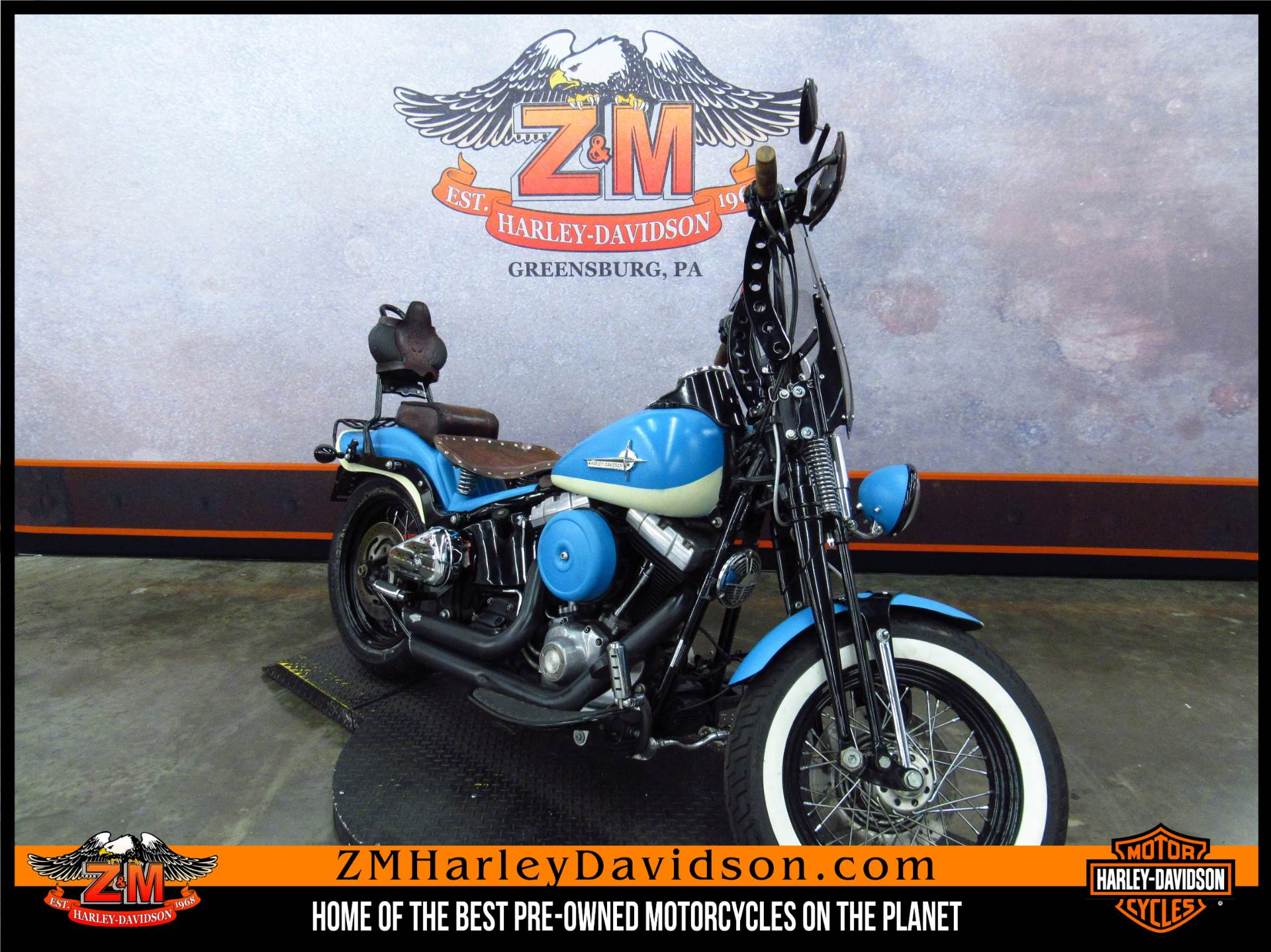 2008 Softail Cross Bones