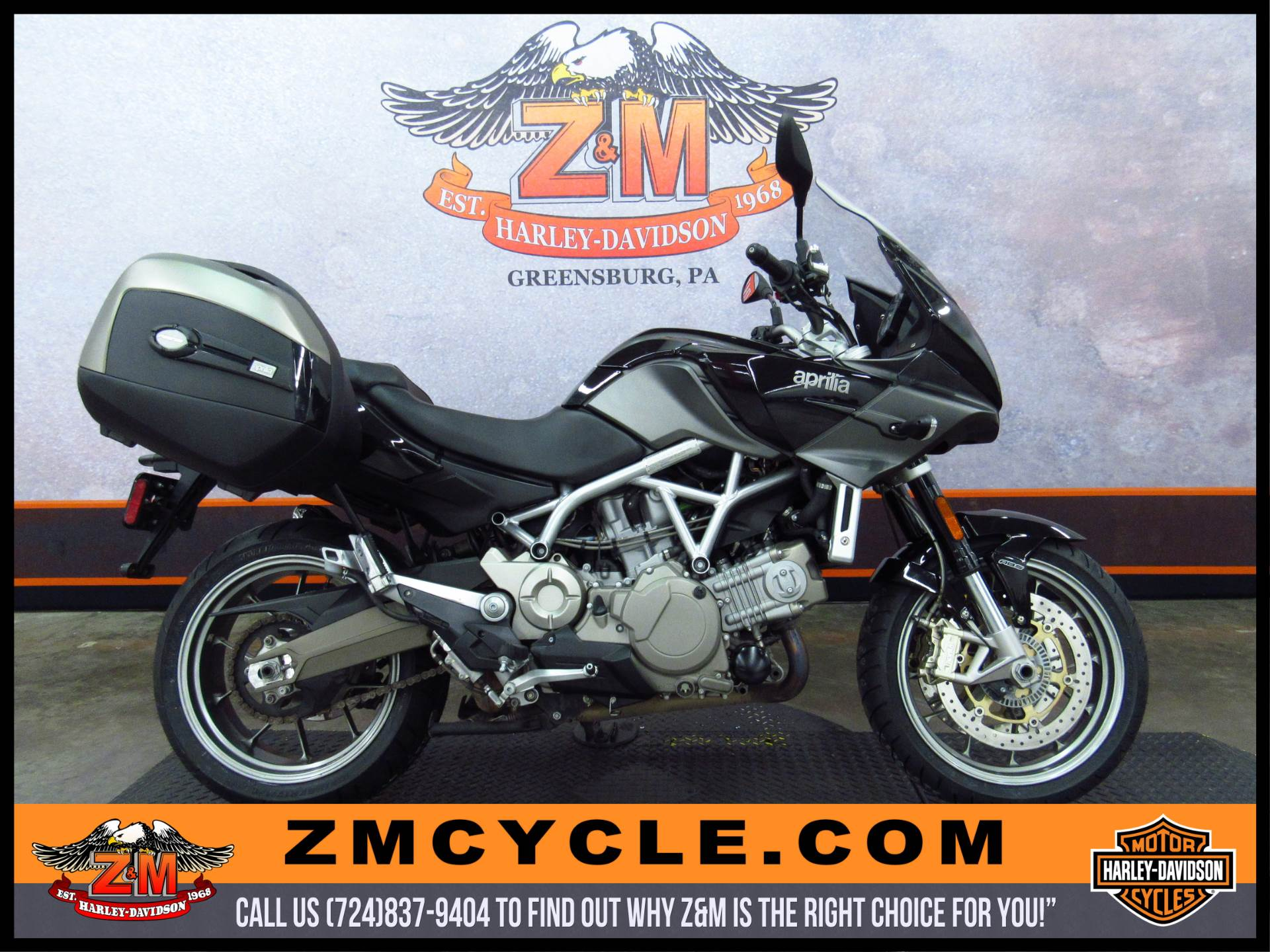2010 Aprilia Mana  850 GT ABS in Greensburg, Pennsylvania