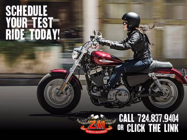 2017 Schedule a Test Ride @ Z&M