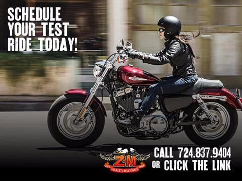 2017 Harley-Davidson Schedule a Test Ride @ Z&M in Greensburg, Pennsylvania