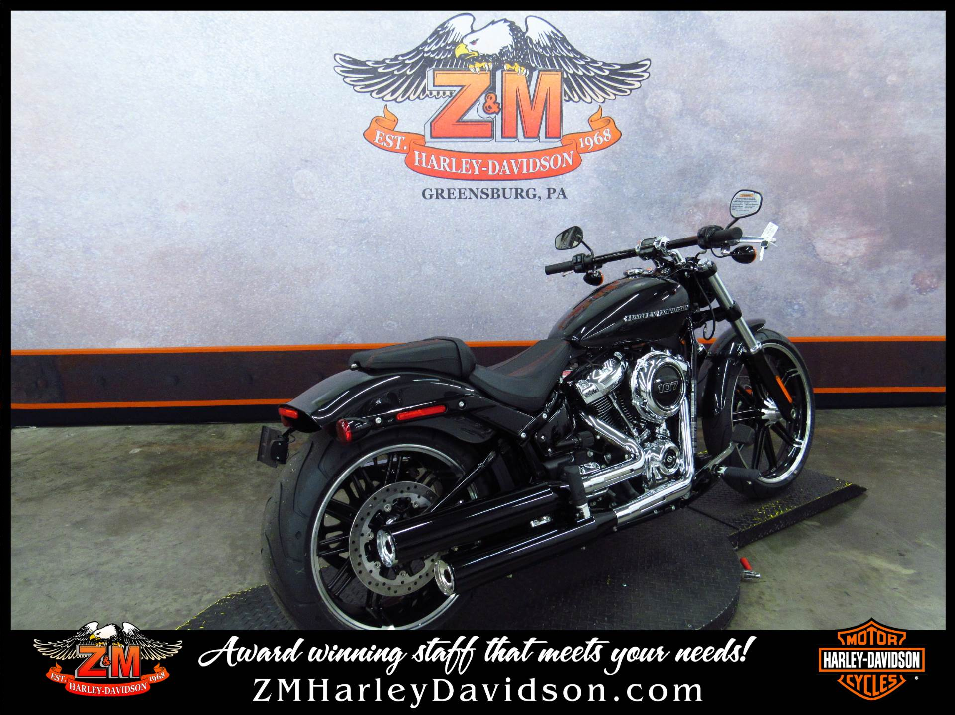 2018 Harley-Davidson Breakout®107 in Greensburg, Pennsylvania
