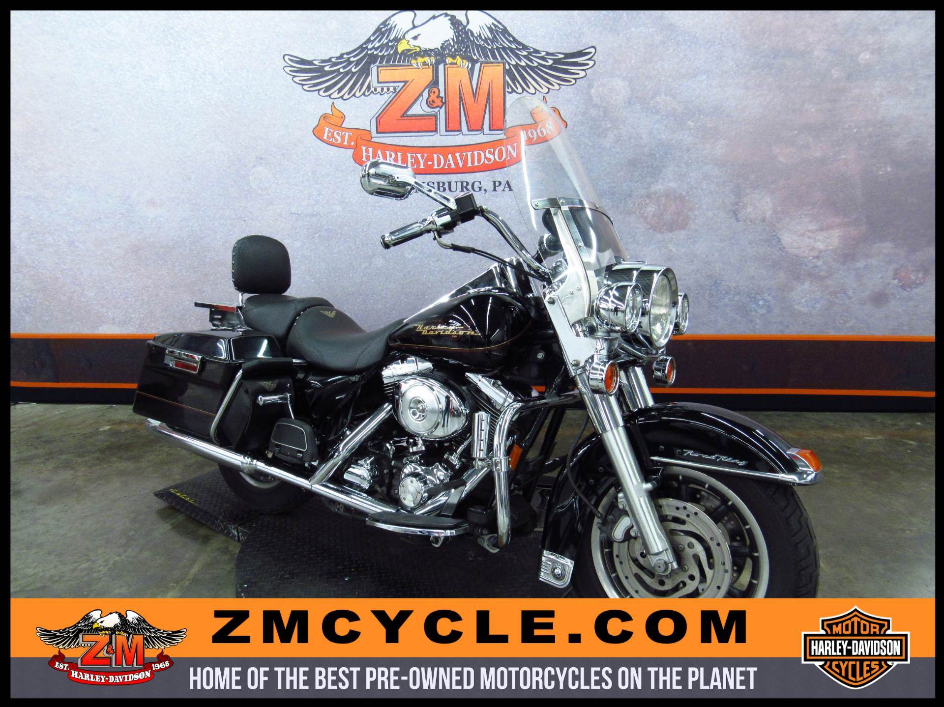 2001 FLHR/FLHRI Road King