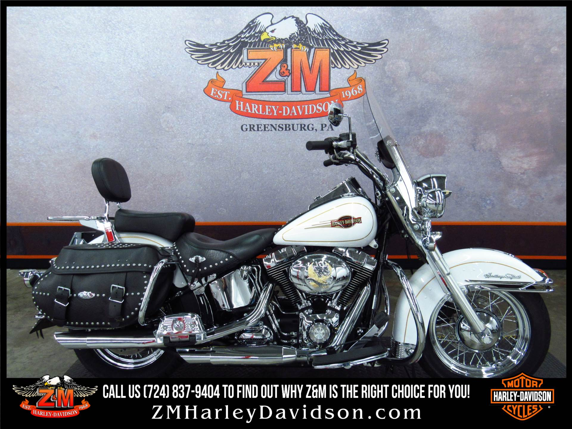 2008 Harley Davidson Heritage Softail Classic Motorcycles In Greensburg Pennsylvania