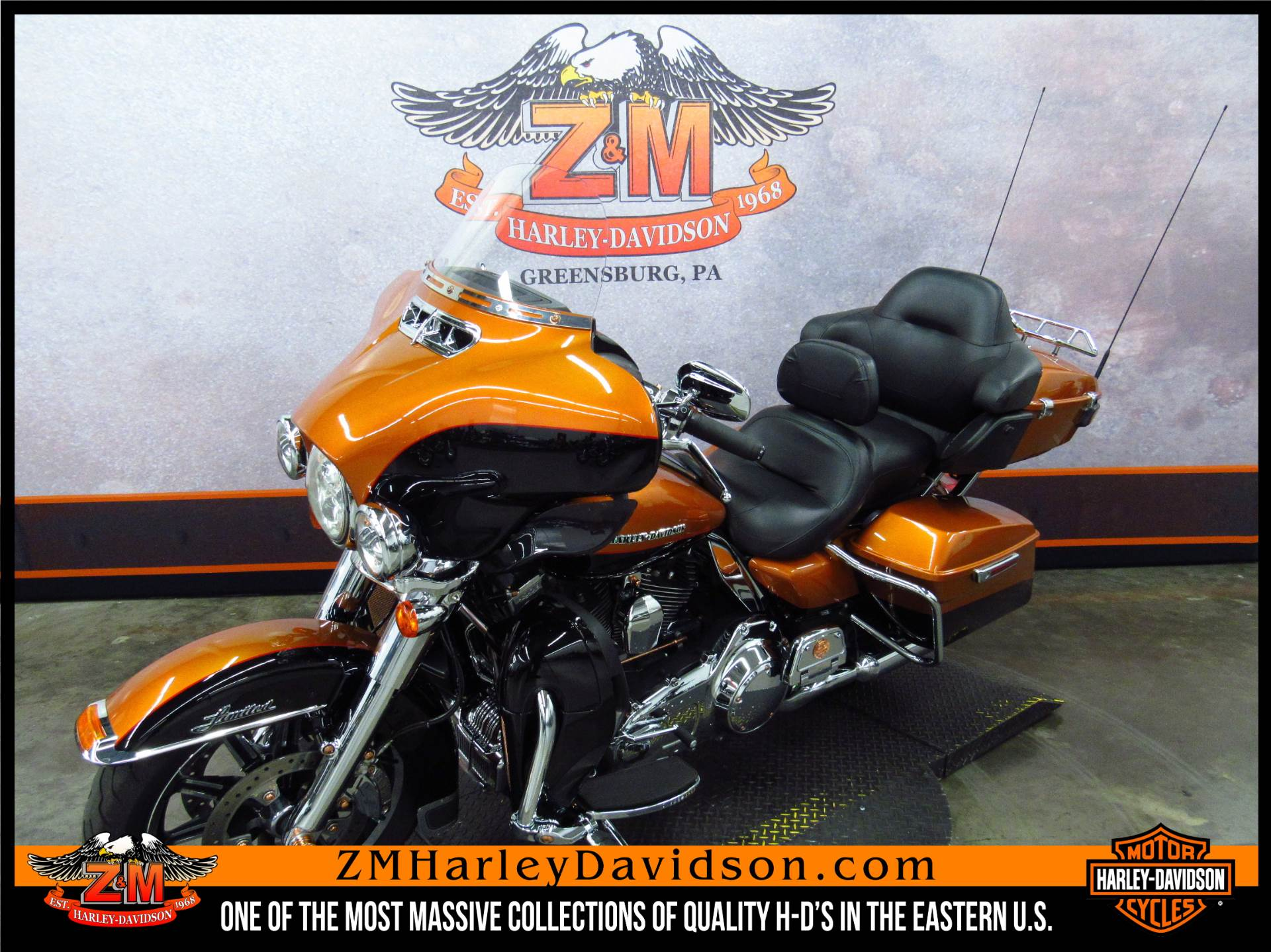 2014 Harley-Davidson Ultra Limited in Greensburg, Pennsylvania