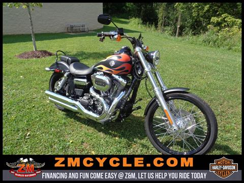 2017 Harley-Davidson Wide Glide in Greensburg, Pennsylvania