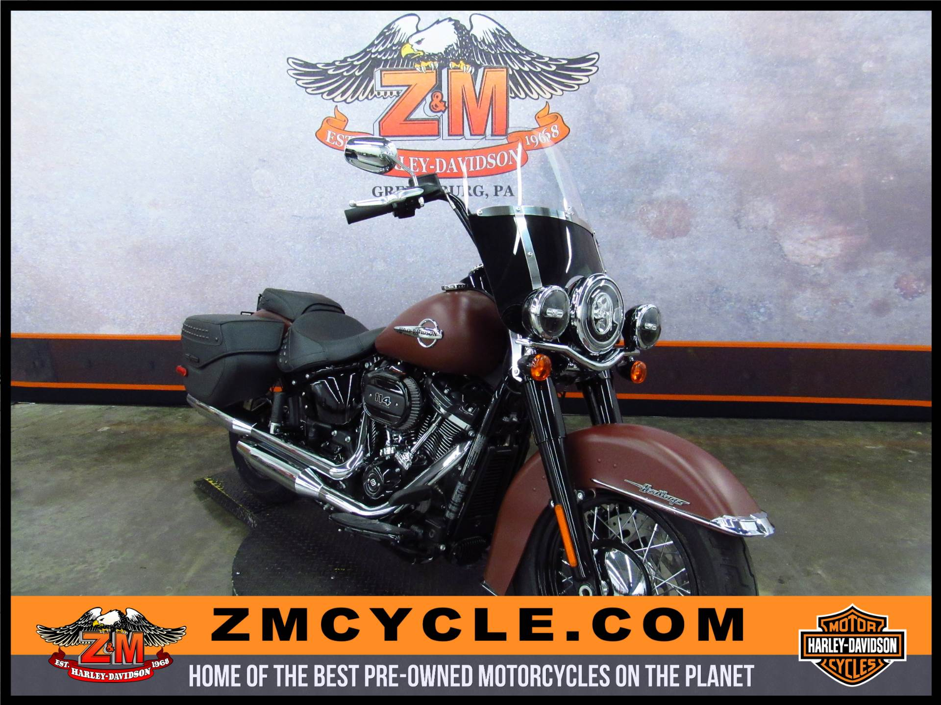 2018 Heritage Softail Classic 114
