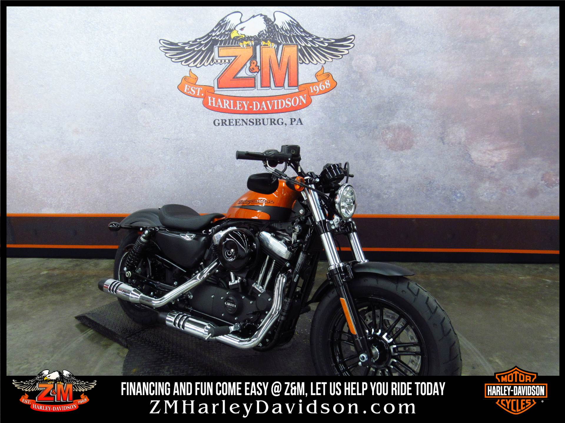 2019 Harley-Davidson Forty-Eight® in Greensburg, Pennsylvania