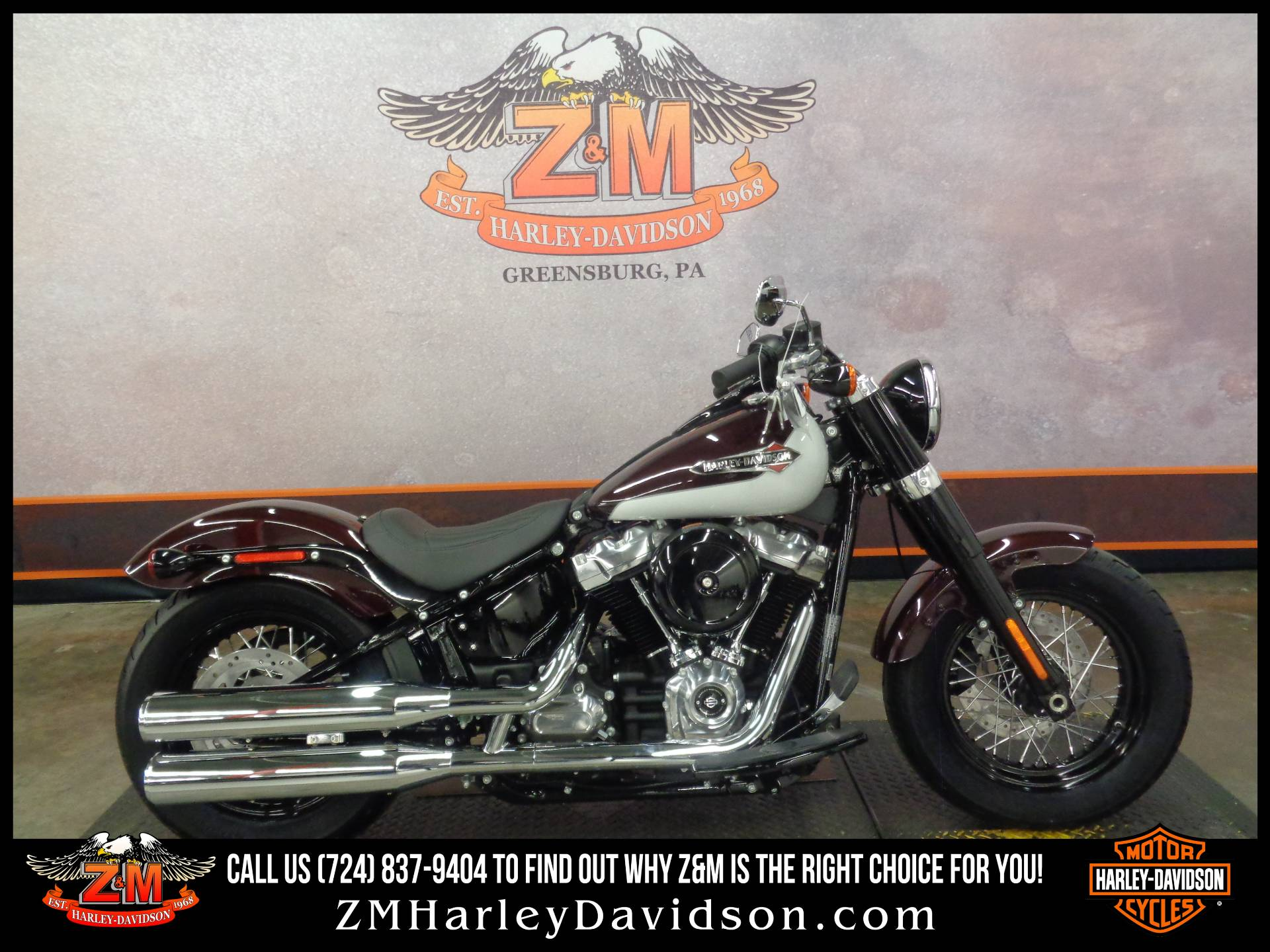 2021 Harley-Davidson Softail Slim® in Greensburg, Pennsylvania - Photo 1