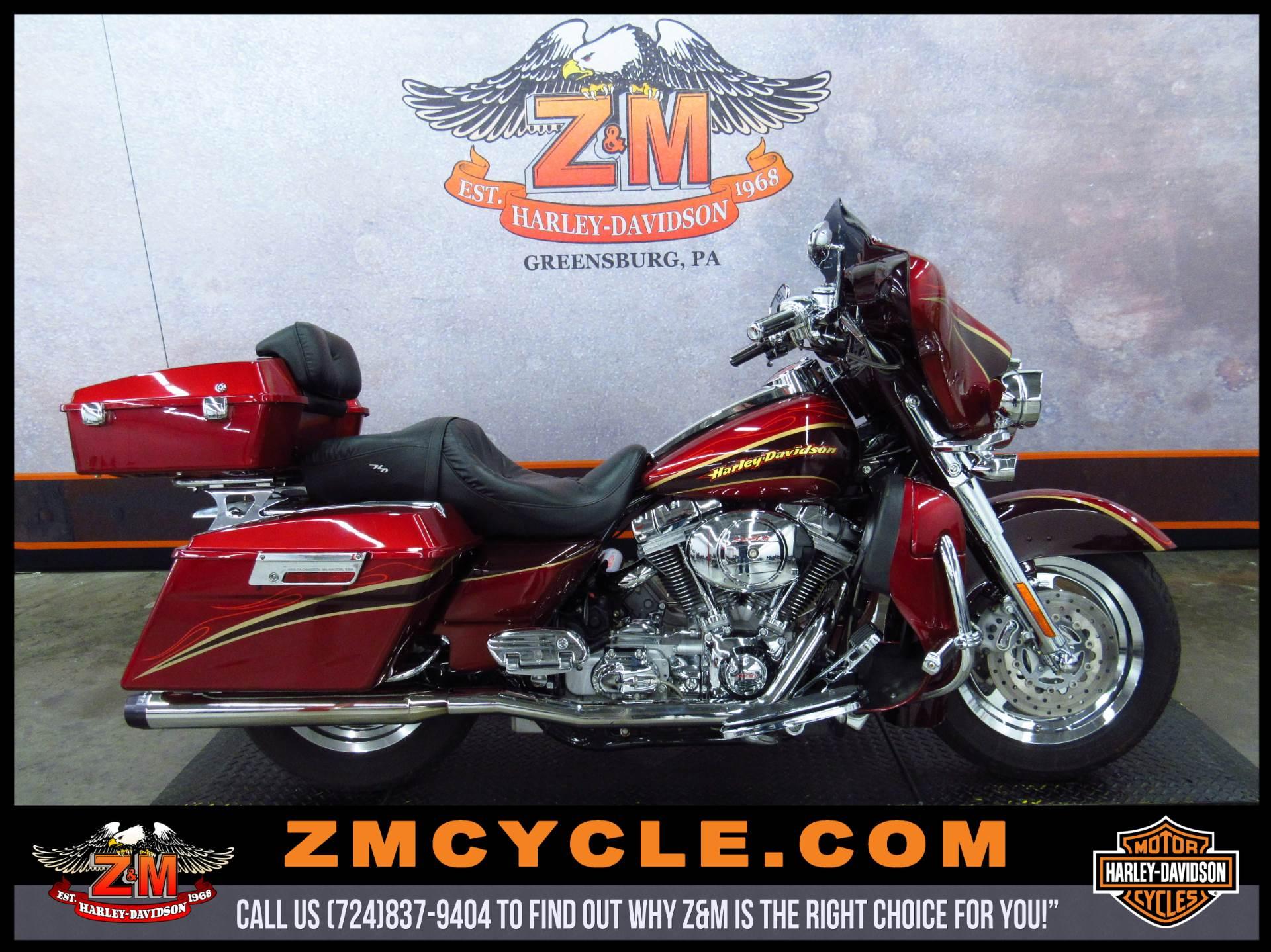 2005 Harley-Davidson FLHTCSE2 Screamin' Eagle Electra Glide 2 For Sale Greensburg, PA : 69665