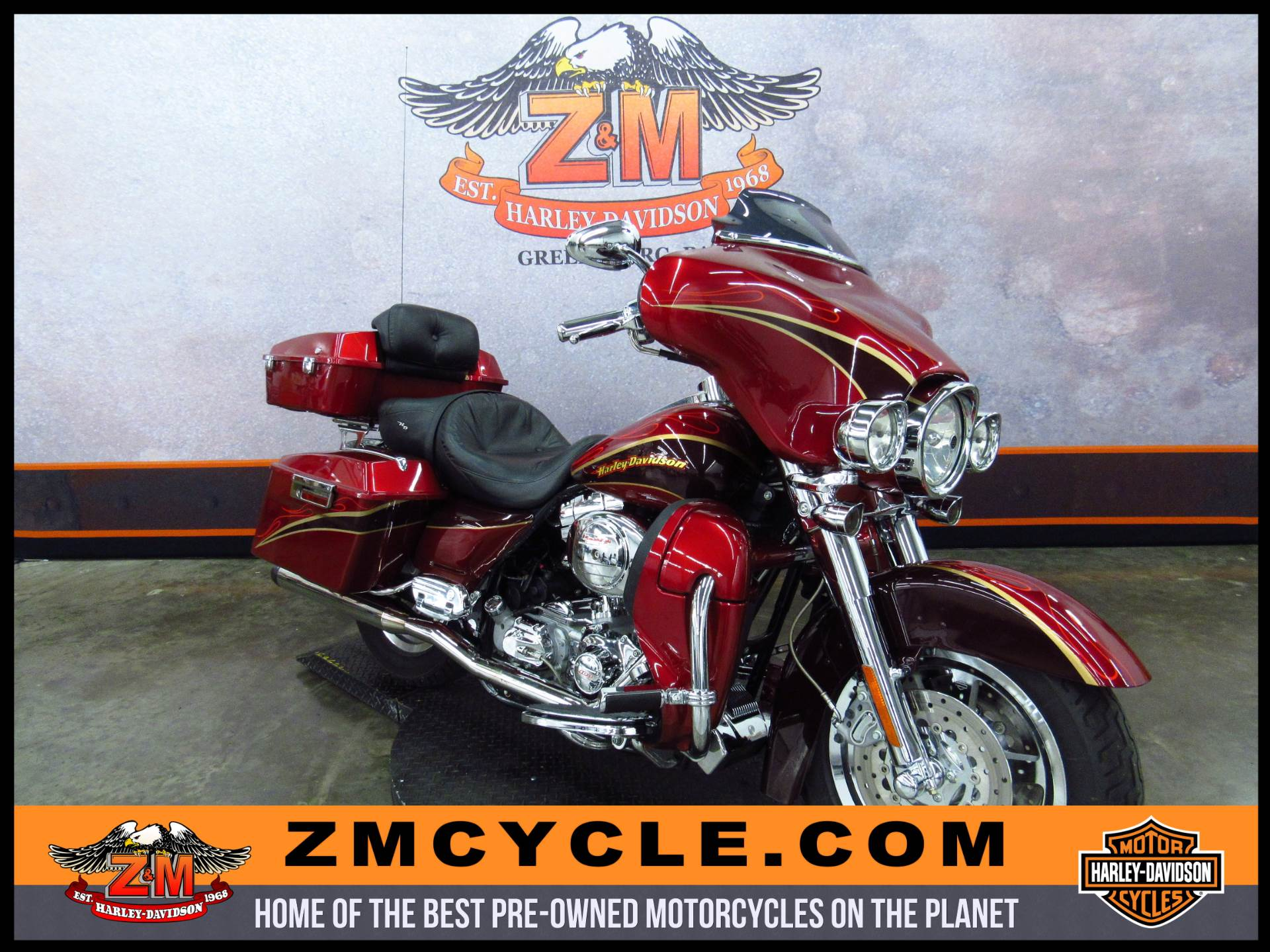 2005 FLHTCSE2 Screamin' Eagle Electra Glide  2
