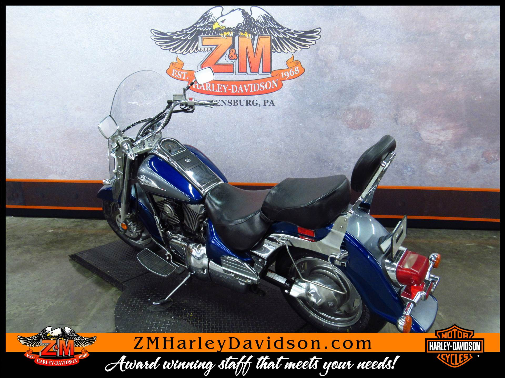 2002 Suzuki Intruder 1500 in Greensburg, Pennsylvania