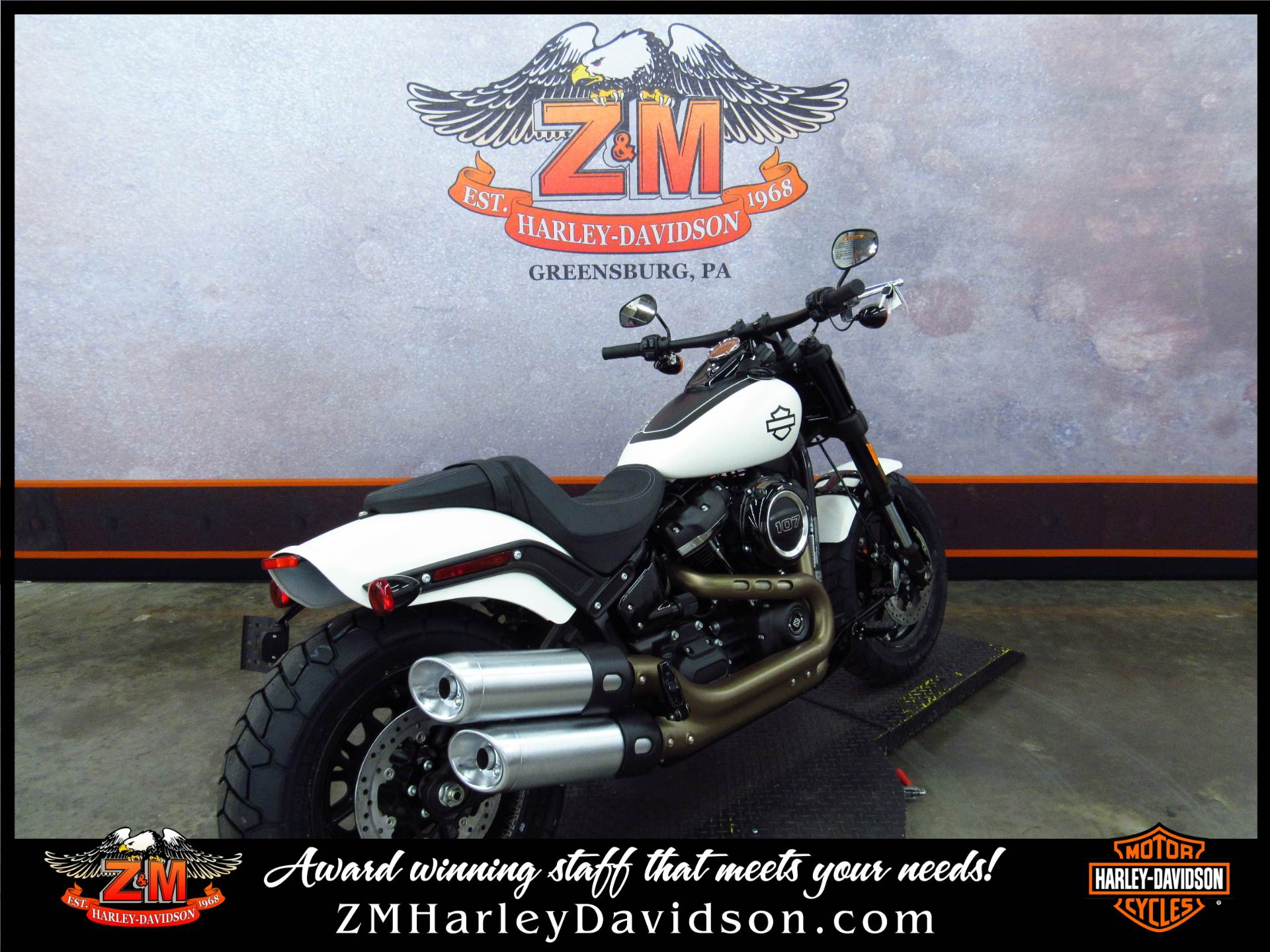2018 Harley-Davidson Fat Bob® 107 in Greensburg, Pennsylvania